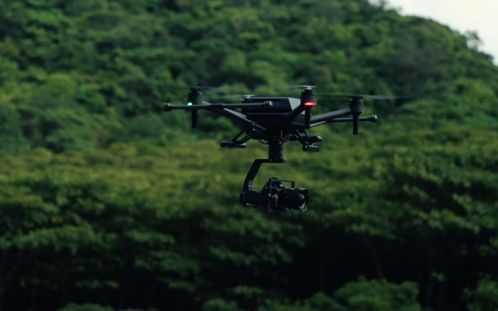 Voici l'Airpeak S1 de Sony, un drone conçu pour porter les caméras de la marque. © Sony
