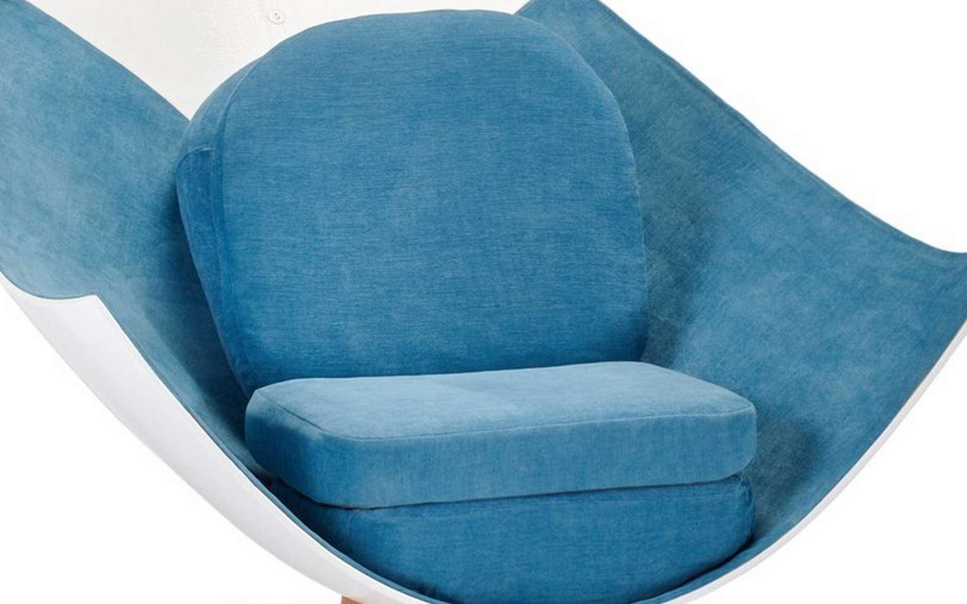 Le fauteuil Cloud réalisé à partir du nez d'un A350. © A Piece of Sky