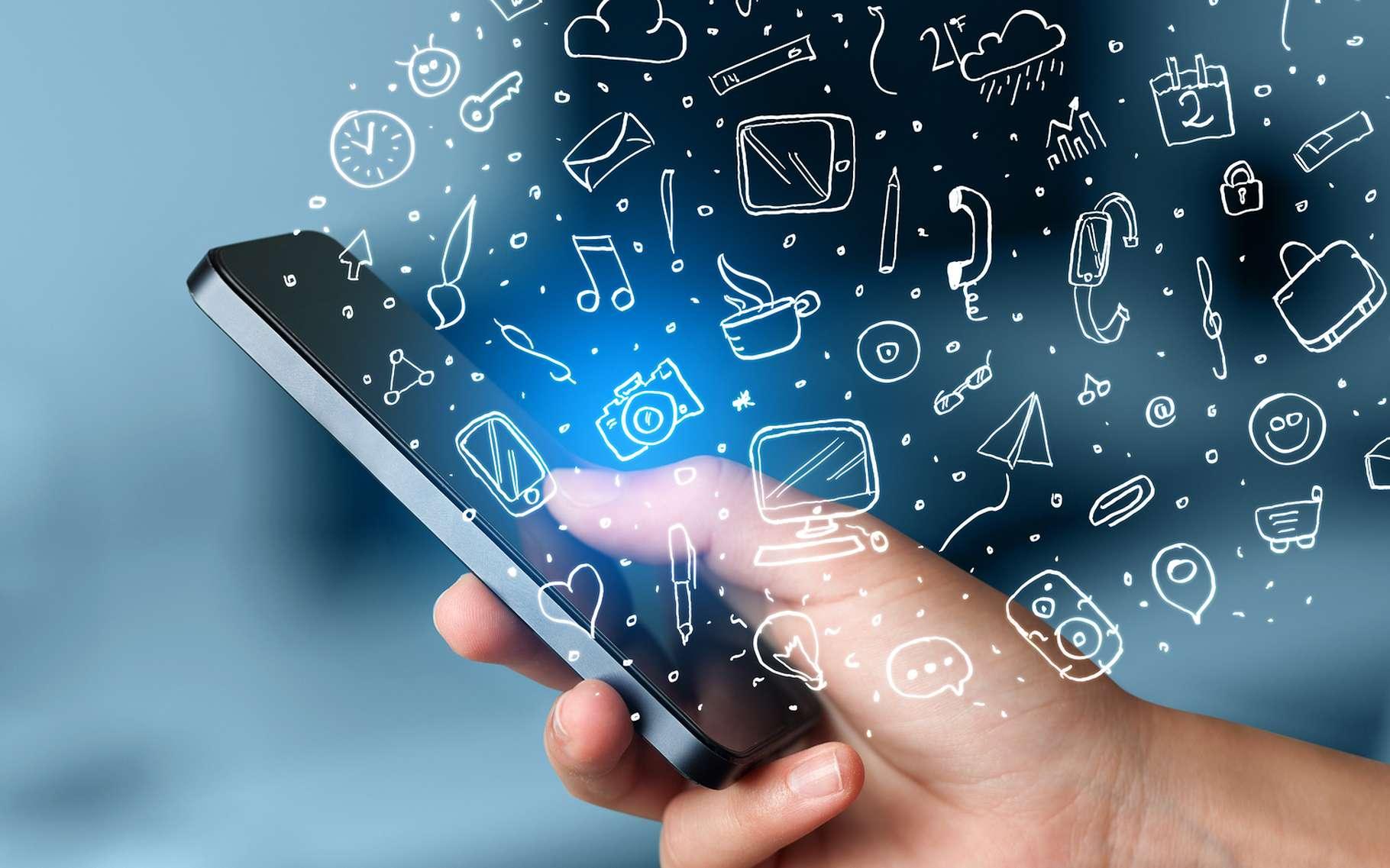 Grâce à des transistors à base de nanotubes de carbone qui, pour la première fois, surclassent les transistors classiques en silicium, des ingénieurs de l'université du Wisconsin pourraient un jour doper les performances des futurs smartphones. © ra2studio, Shutterstock