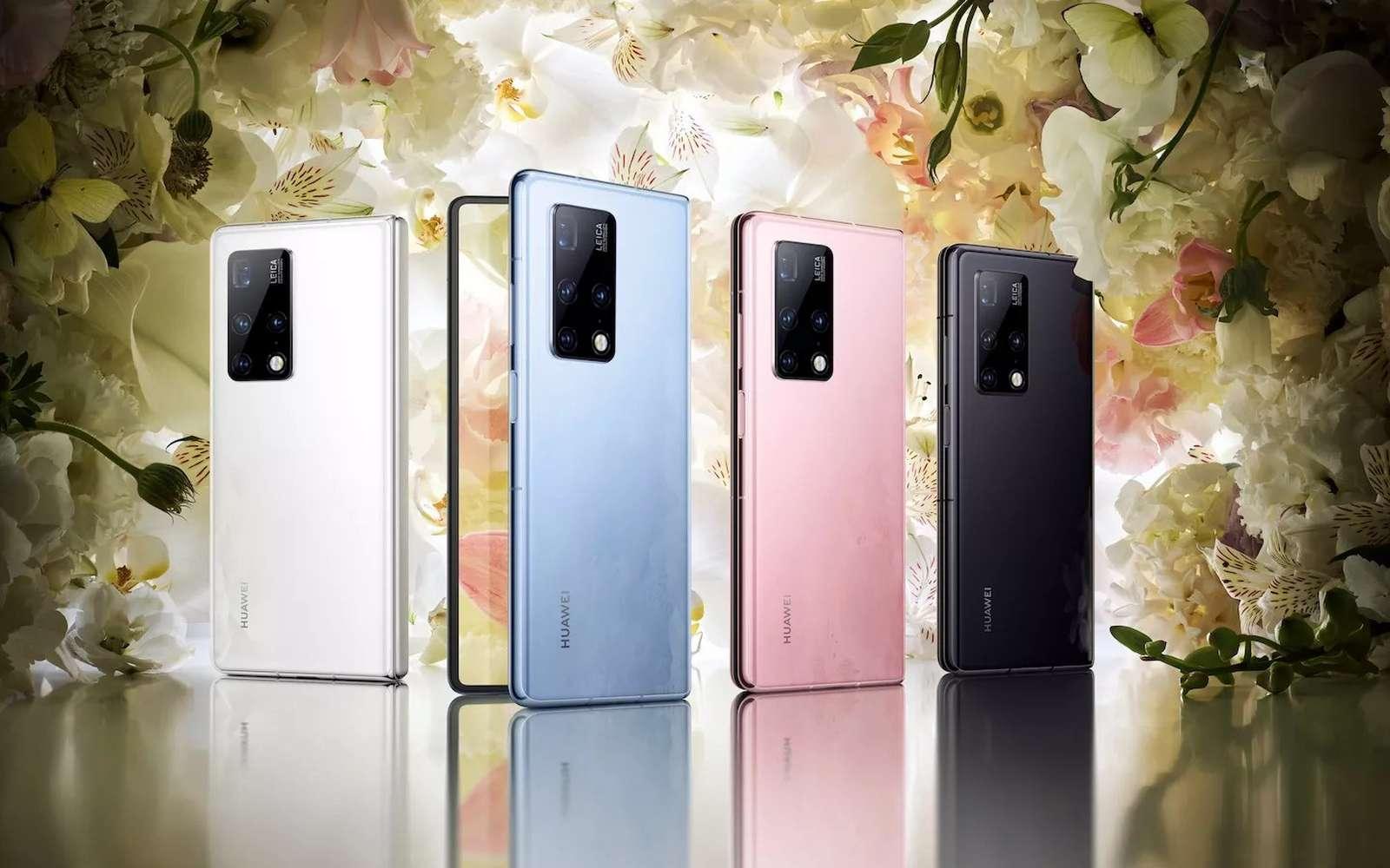 Huawei revoit sa copie avec un écran pliable qui s'ouvre comme un livre. © Huawei