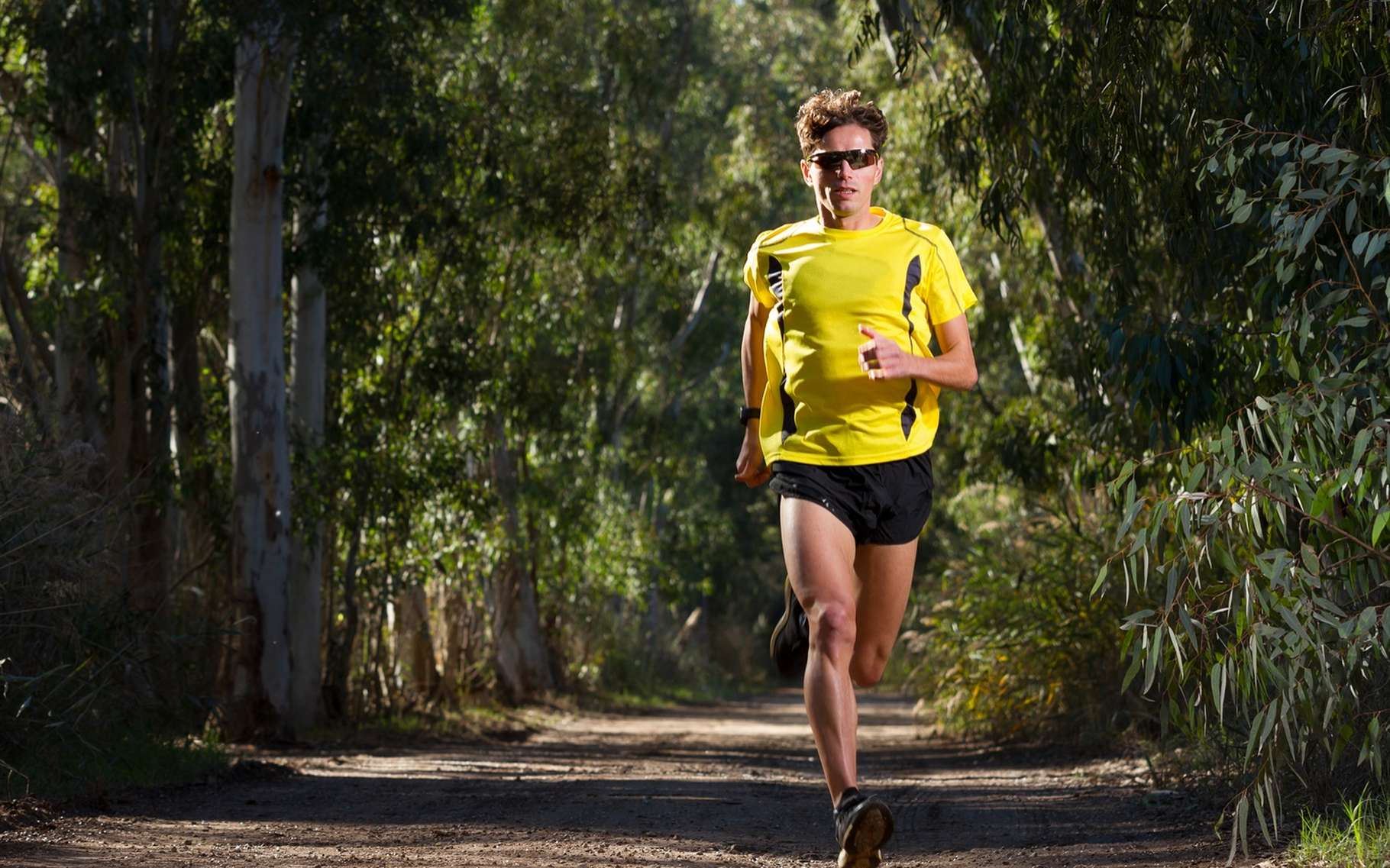 Courir 30 mn trois ou quatre fois par semaine améliore la qualité du sperme en quelques mois. © Gines Romero, Shutterstock