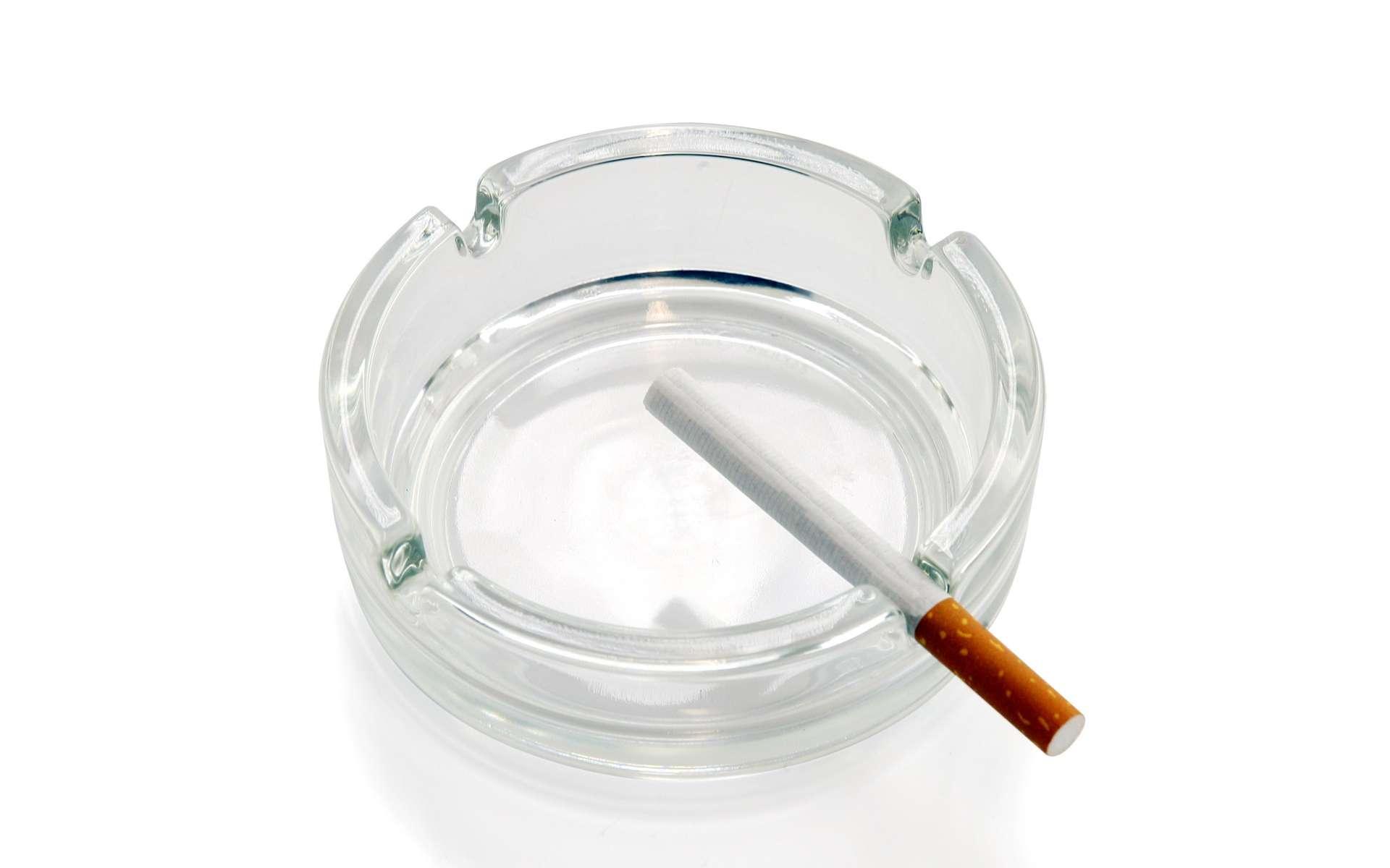 Le tabac, responsable de bien des maux... mais pas de la plaque dentaire. © Phovoir