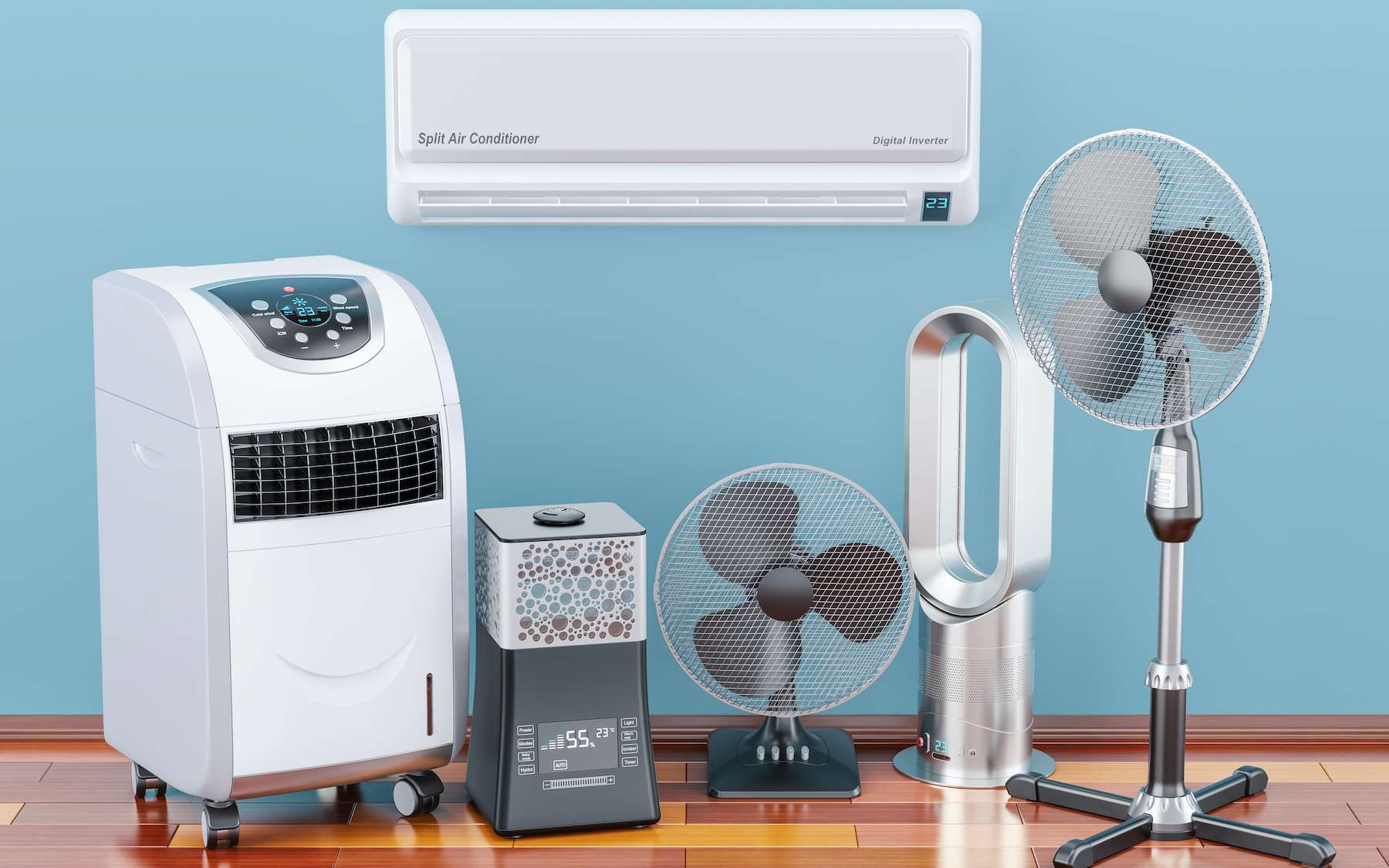 Ventilateur ou climatiseur : lequel choisir ? © alexlmx, Adobe Stock