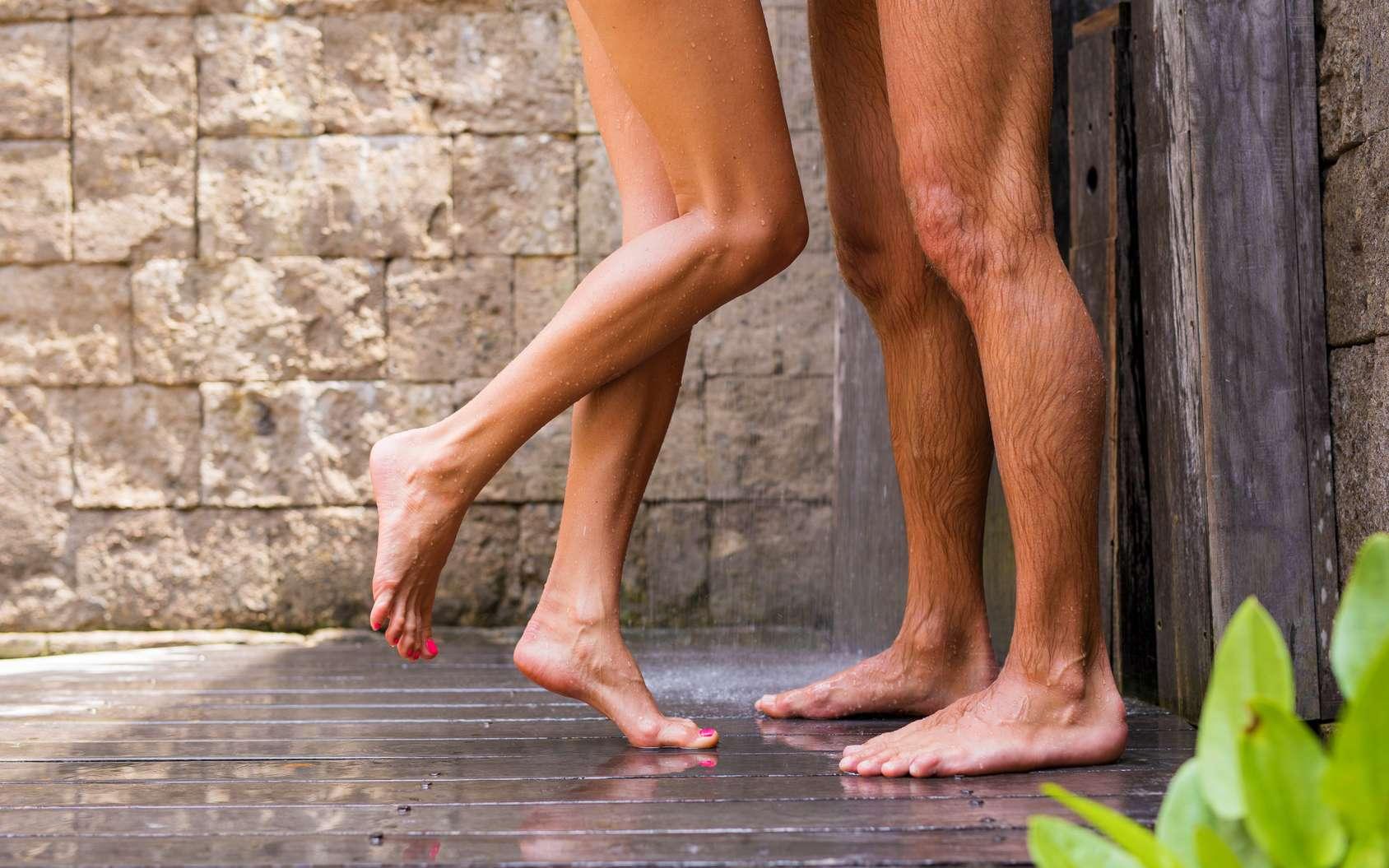 Les femmes sont davantage séduites par les hommes aux jambes longues. © Kaspars Grinvalds, Fotolia