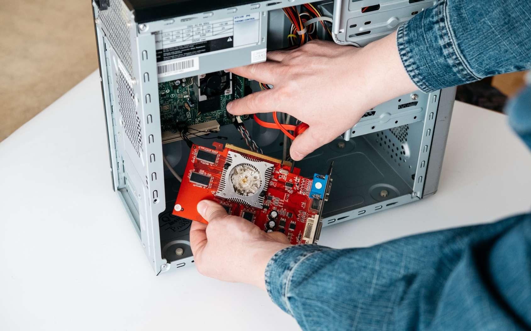 La carte graphique est un composant de l'ordinateur. © photognus, Fotolia