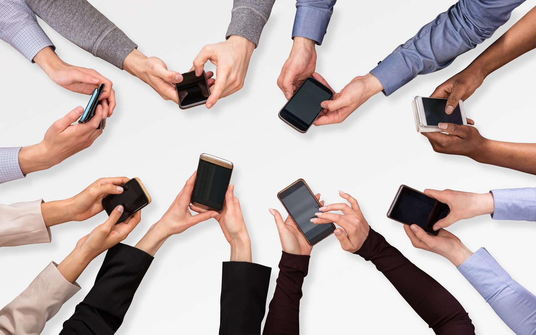 La nomophobie est la peur d'être séparé de son téléphone portable. © Andrey Popov, Fotolia