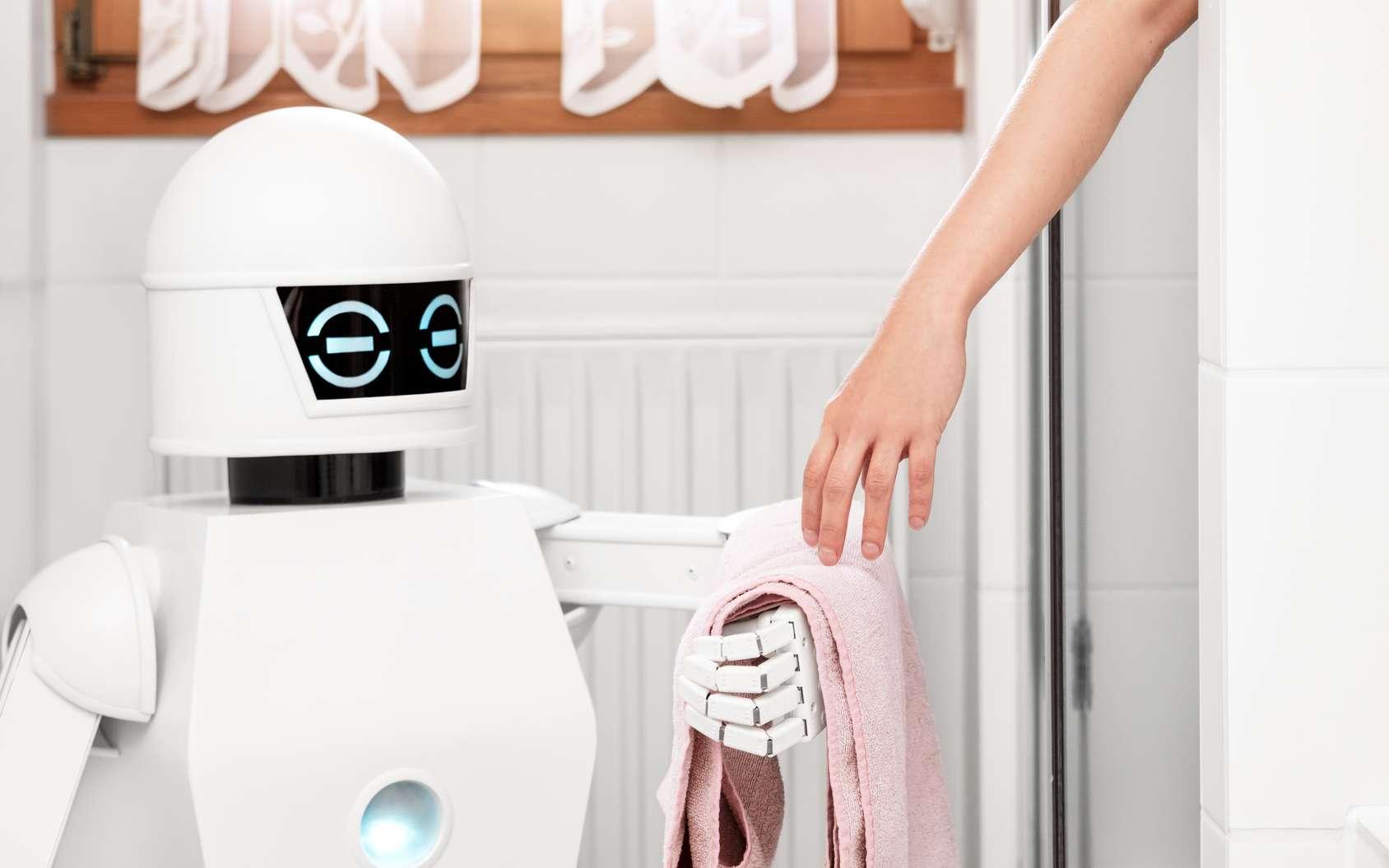 Selon Bloomberg, le robot domestique d'Amazon serait une version sur roues de l'assistant vocal Alexa. © M.Dörr & M.Frommherz, Fotolia