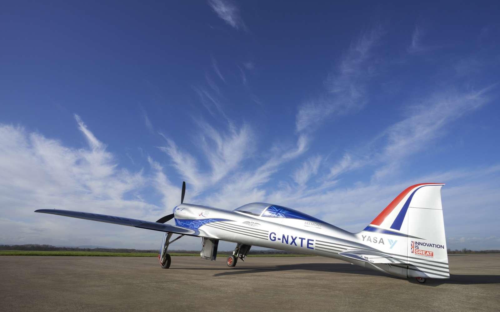 L'avion électrique avec lequel Rolls-Royce veut s'attaquer au record du monde vitesse. © Rolls-Royce