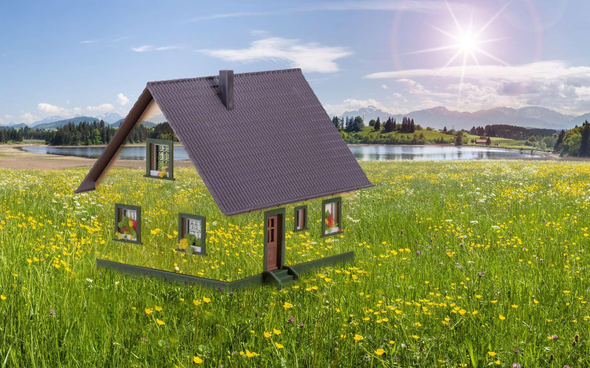 Découvrez le coût moyen de l'investissement pour la construction d'une maison écologique et les avantages de ce type d'habitat. © Wolfilser, Adobe Stock