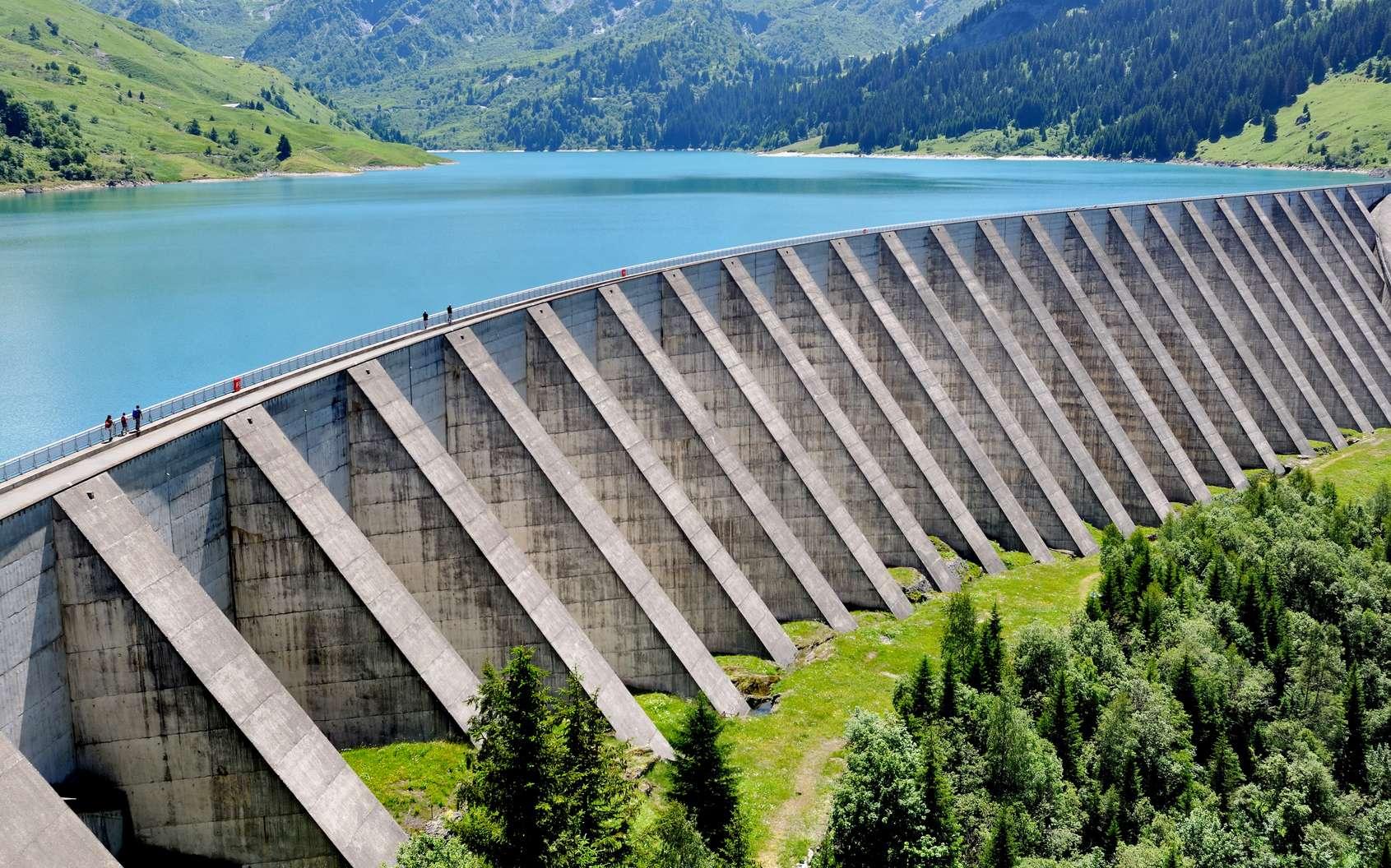 Le barrage de Roseland en Savoie. © coco, fotolia