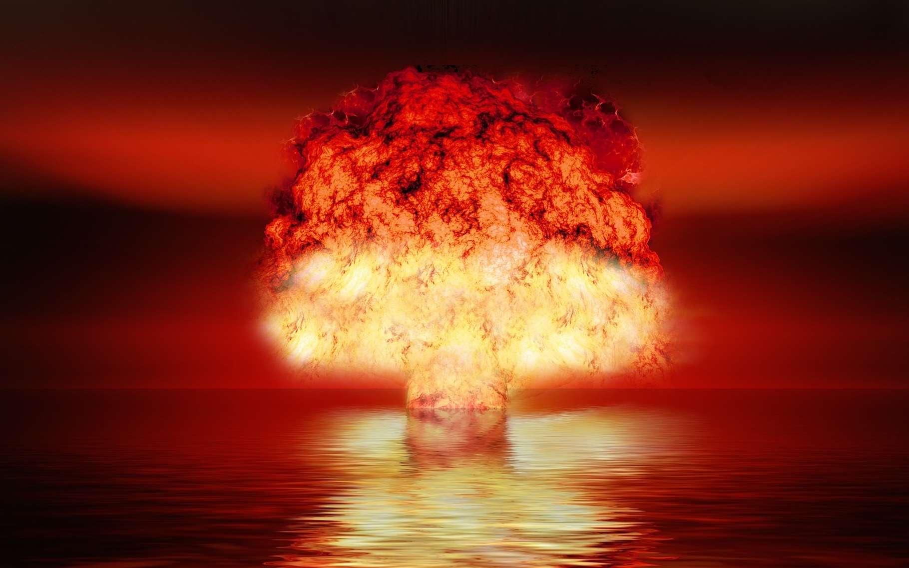 Le 3 septembre 2017, la Corée du Nord a prétendu avoir testé une bombe H. Jusqu'alors, seuls cinq pays – les États-Unis, la Russie, la Grande-Bretagne, la Chine et la France – avaient démontré leur capacité à initier une telle explosion. © geralt, Pixabay, CC0 Creative Commons