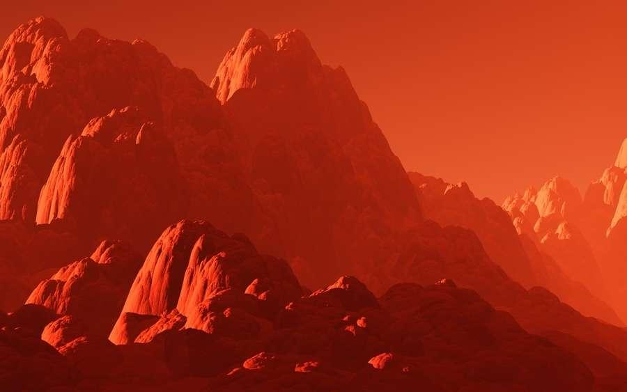 Des montagnes aussi hautes que les Alpes se nicheraient à 660 km dans le manteau terrestre. © Ustas, Fotolia