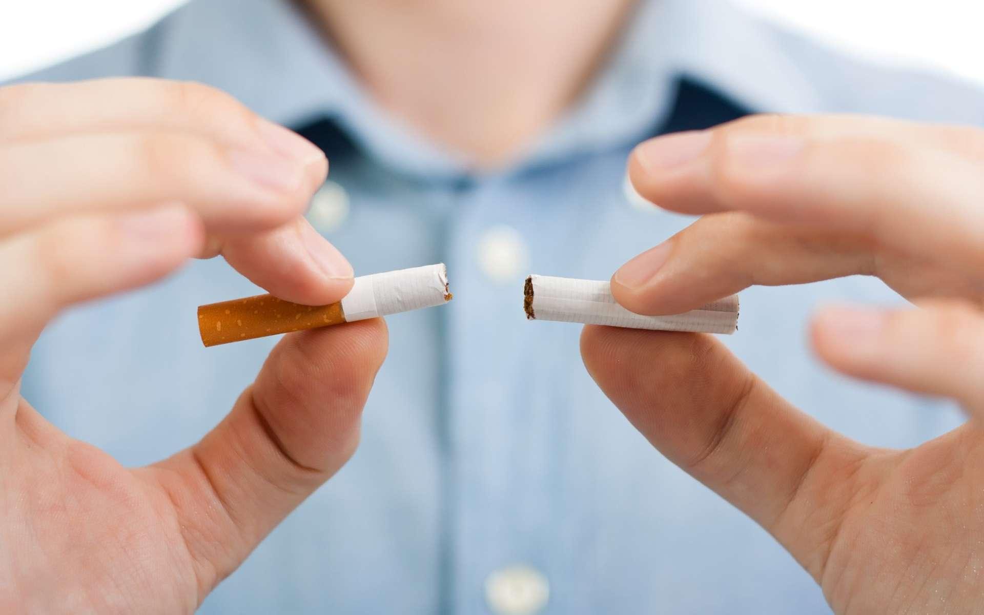 Le nouveau vaccin « pour arrêter de fumer » permet de réduire les effets de la nicotine sur le cerveau de souris. © InesBazdar, Shutterstock