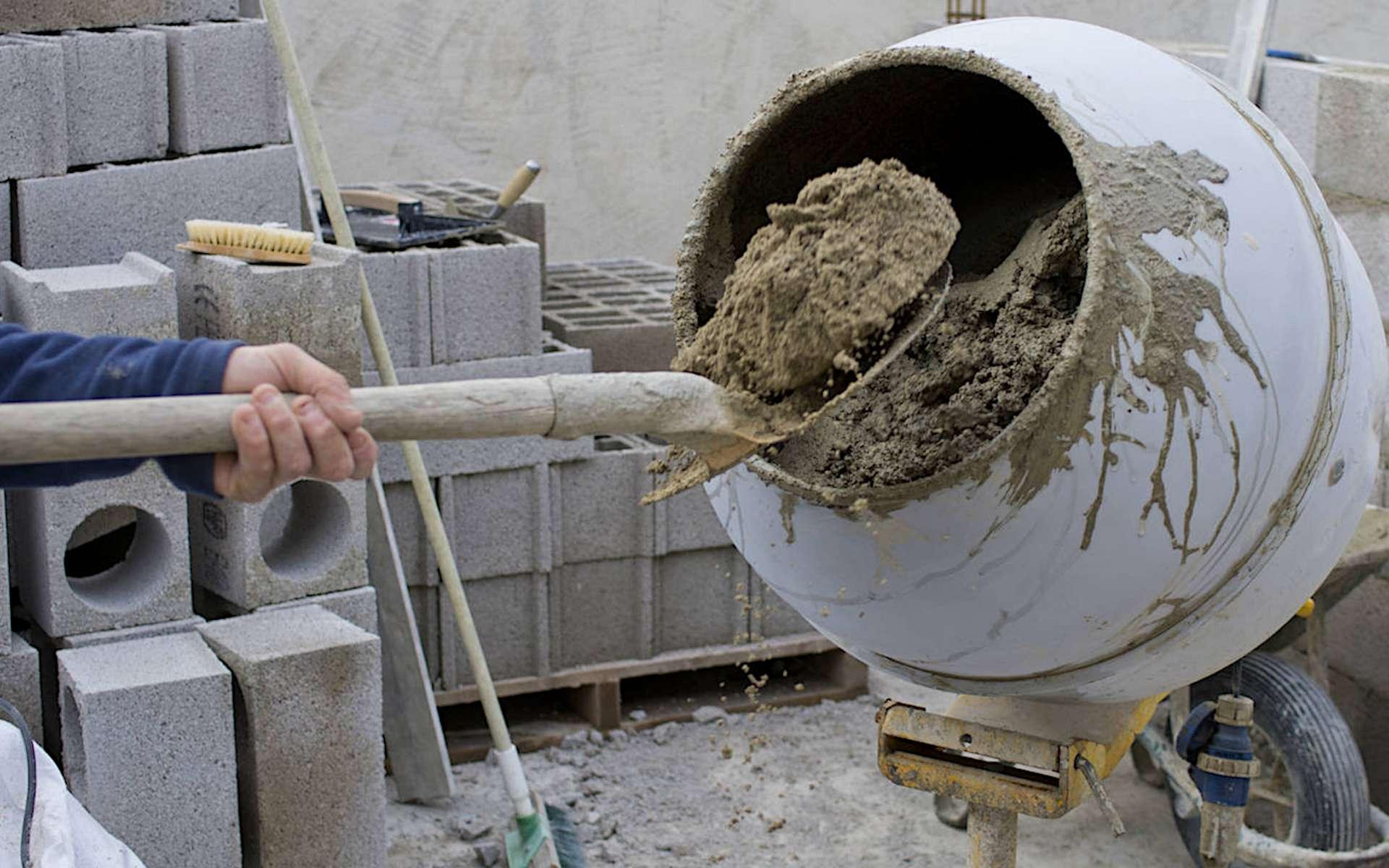 Le béton est un matériau de construction aux multiples usages. © Matériaux Produits