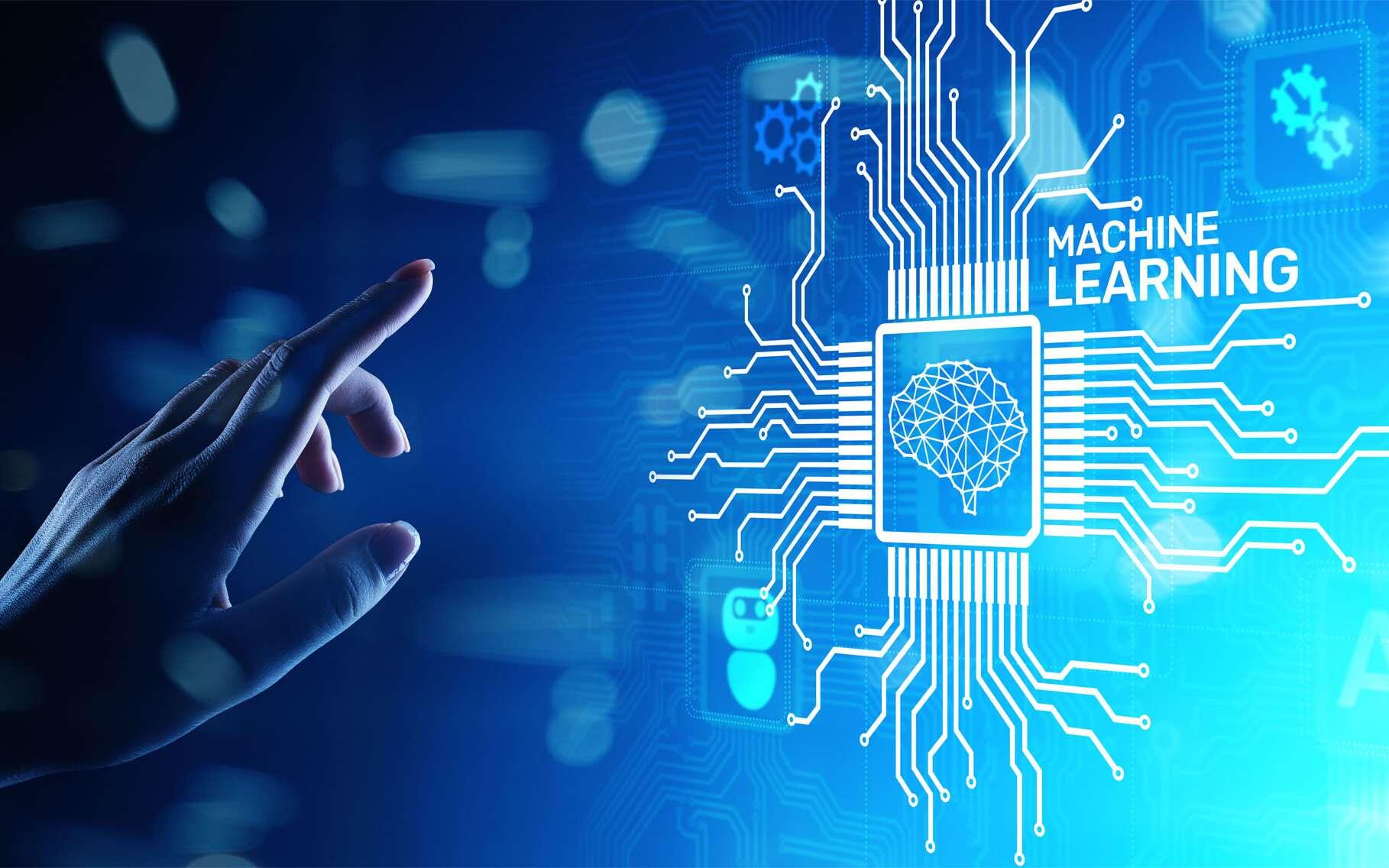 Le machine learning est l'apprentissage d'un modèle statistique par une machine. © WrightStudio, Adobe Stock