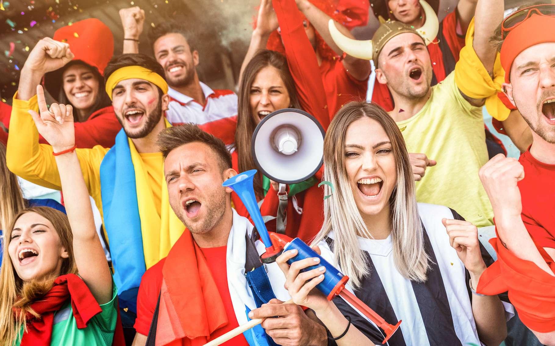 Lorsque leur équipe a ouvert le score face à l'Allemagne, hier, la ferveur des supporters mexicains a été telle qu'un microséisme a été enregistré à Mexico. © Mirko, Fotolia