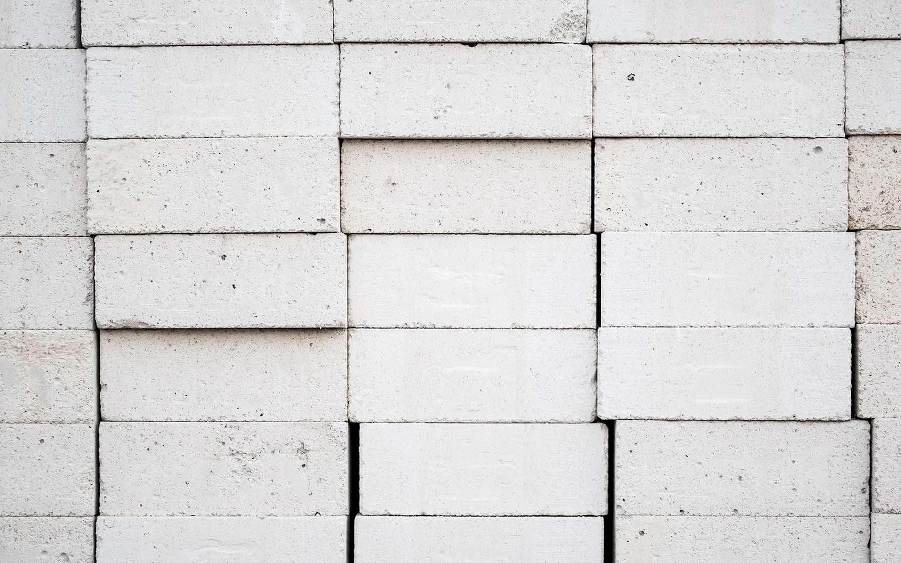 Le béton cellulaire est un matériau de construction léger et isolant. © Piman Khrutmuang, Fotolia