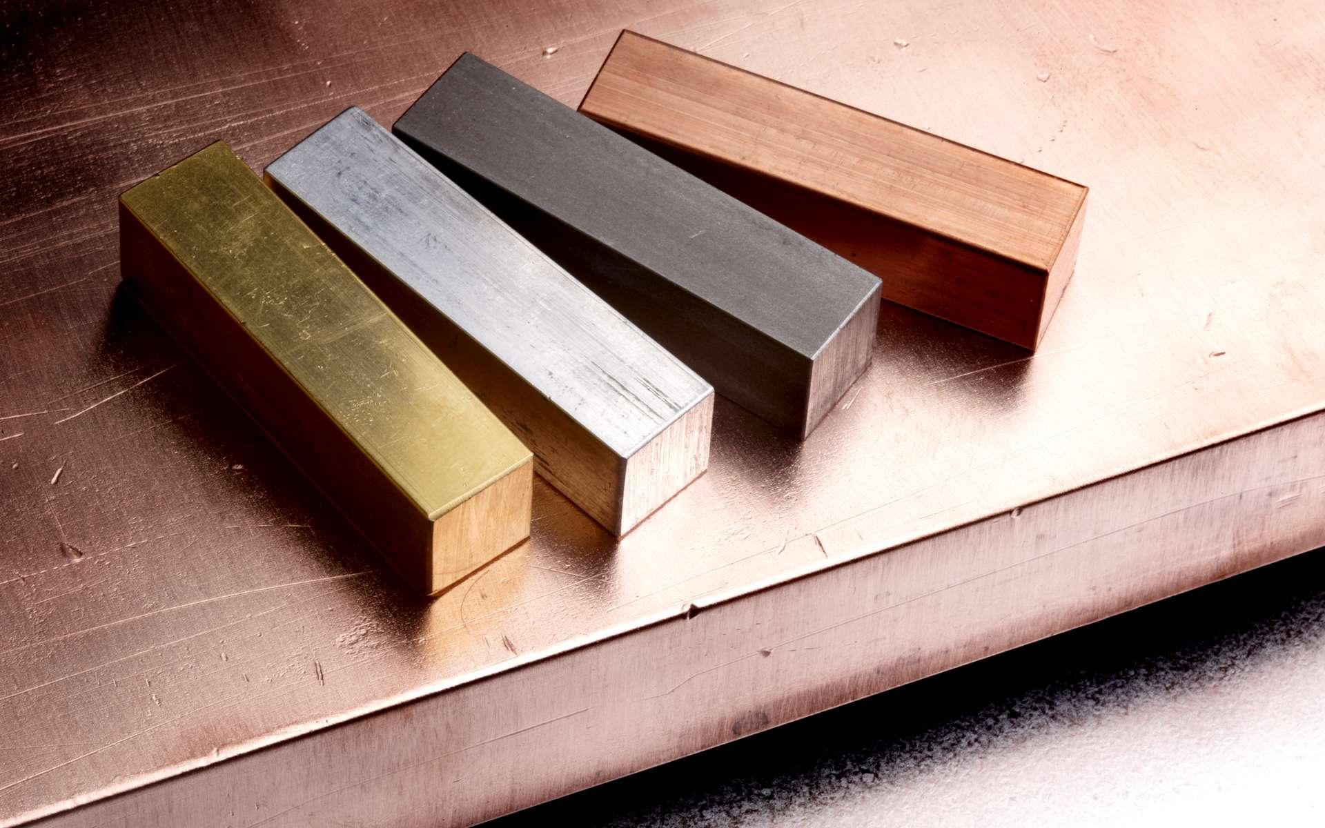 L'or, l'argent ou le platine sont des métaux nobles. © Jim Barber, Adobe Stock
