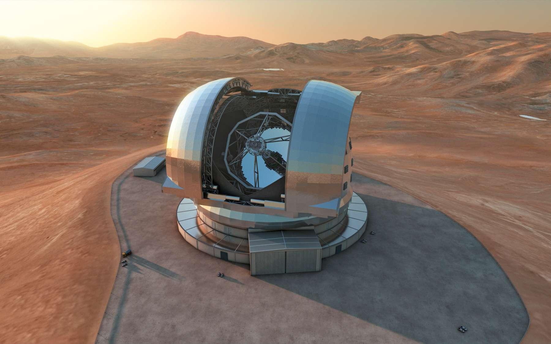 Après l'interférométrie au VLT, le réseau de radiotélescopes Alma (le plus grand projet astronomique en cours de réalisation) et en attendant l'E-ELT, l'Europe est amenée à jouer un rôle de leader dans l'astronomie au sol ces prochaines décennies. © ESO/L. Calçada