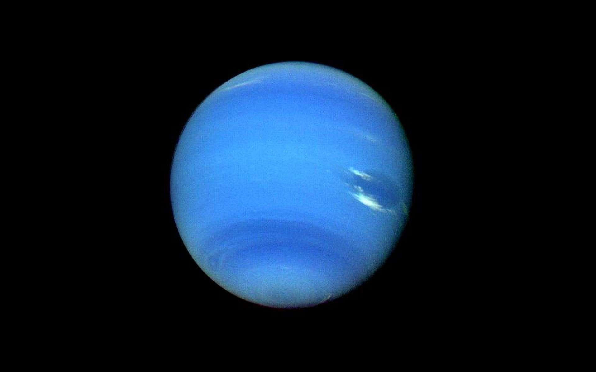 Le buzz du mois : la planète X, alias Neuvième planète, également connue sous le nom de planète Neuf ou planet Nine, et que personne n'a jamais vue. Son existence est suspectée à cause de la bizarrerie des orbites d'objets lointains. © Nasa