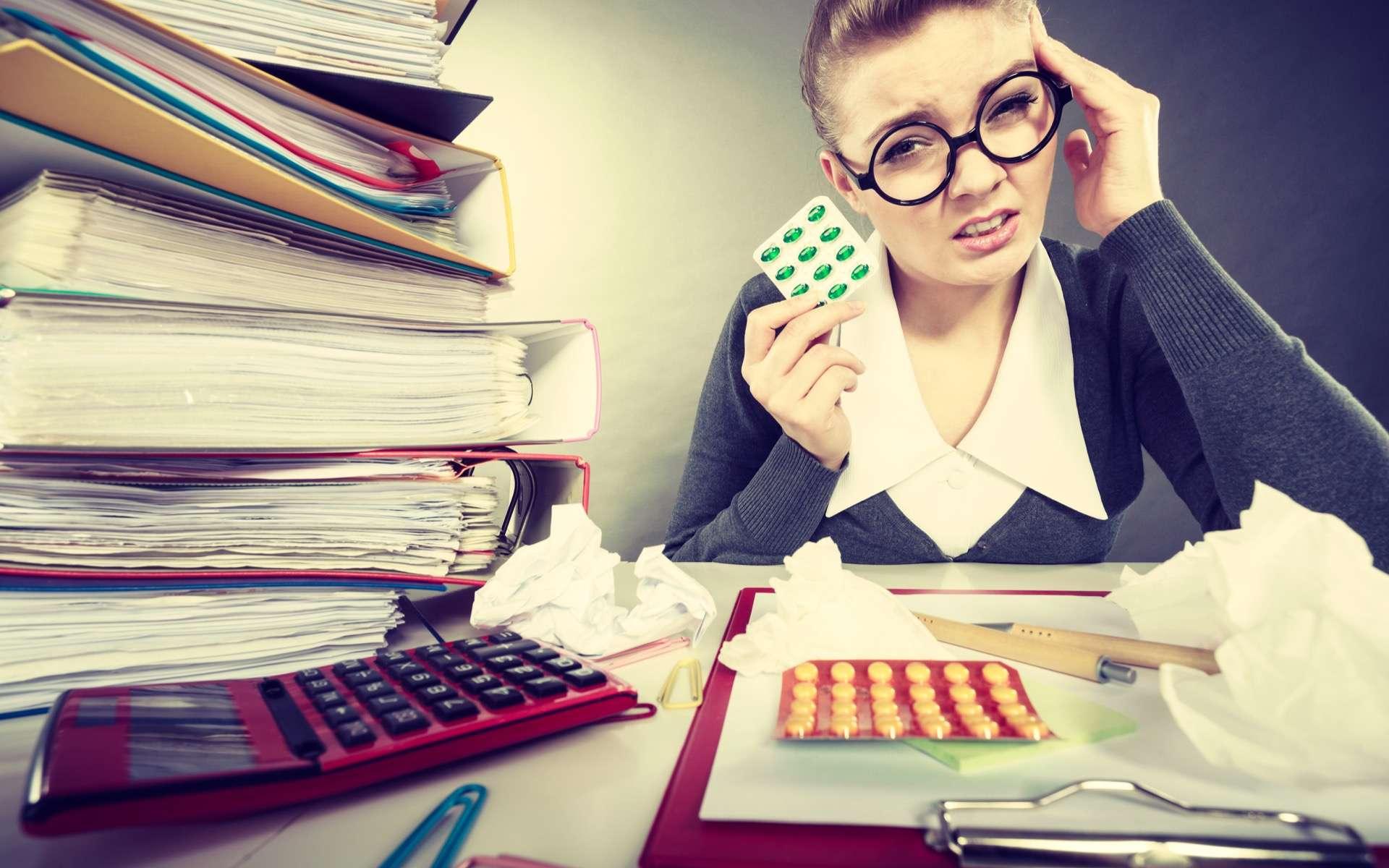 Trop de stress est mauvais pour la santé. Cette étude montre qu'il agit directement sur l'expression des gènes et le fonctionnement des cellules. © patriziasoliani, Flickr, cc by nc 2.0