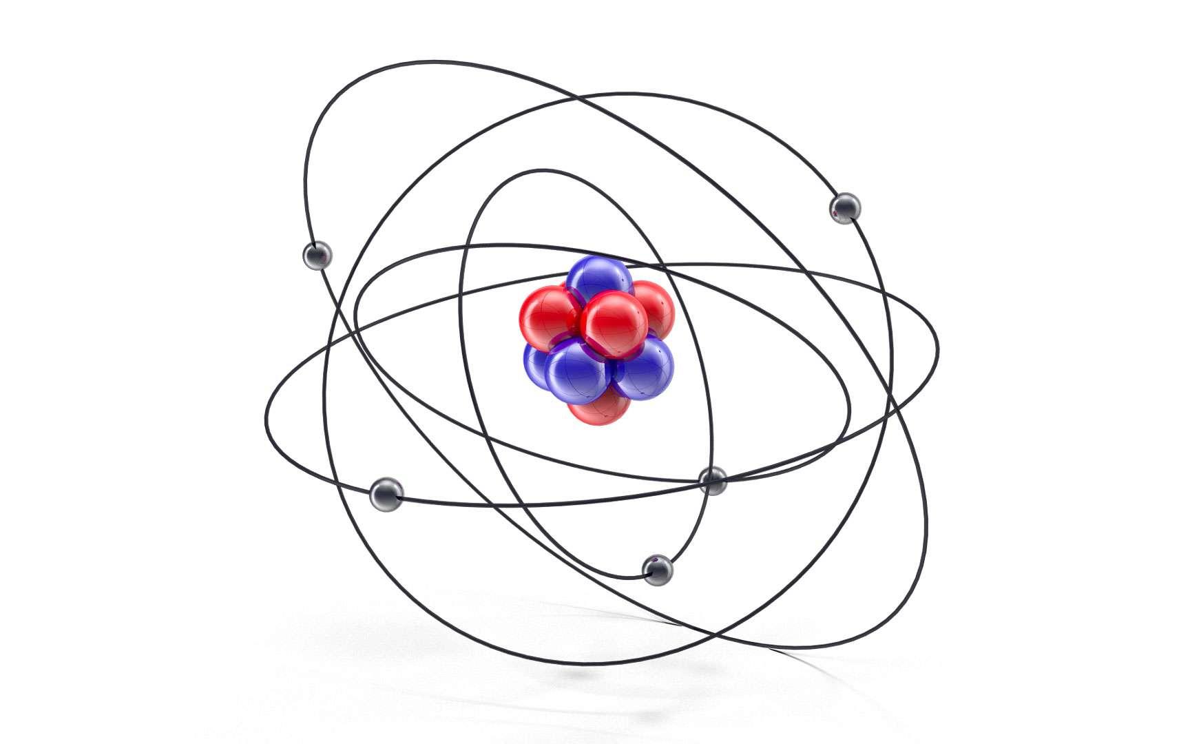 Il y a encore quelques temps, on pensait que l'atome était le plus petit objet physique © bogdandreava, Envato Elements