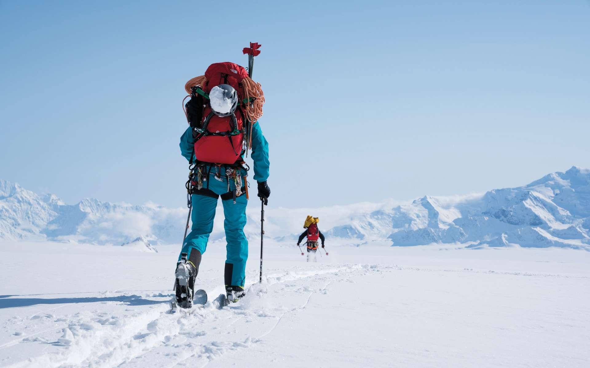 Le nouveau textile Futurelight a été testé par des athlètes dans des conditions extrêmes. © The North Face