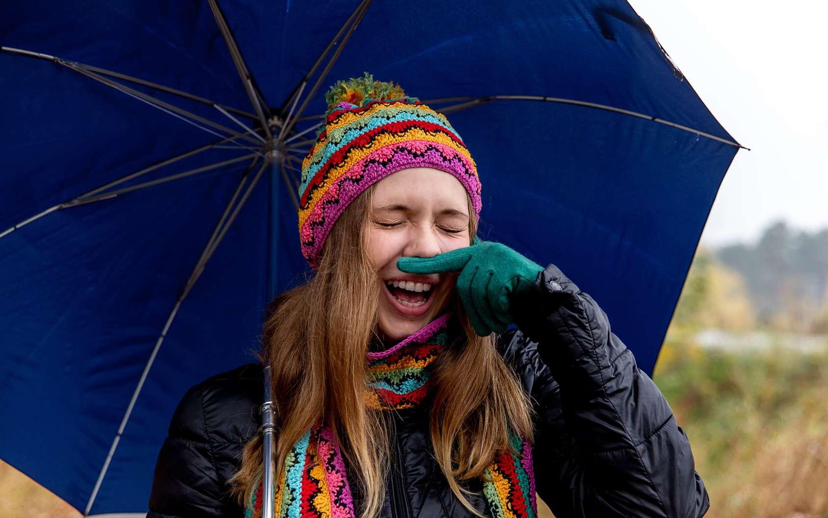 Lorsqu'il fait froid, le nez produit plus de vapeur d'eau et de mucus. © Nichizhenova Elena, Fotolia