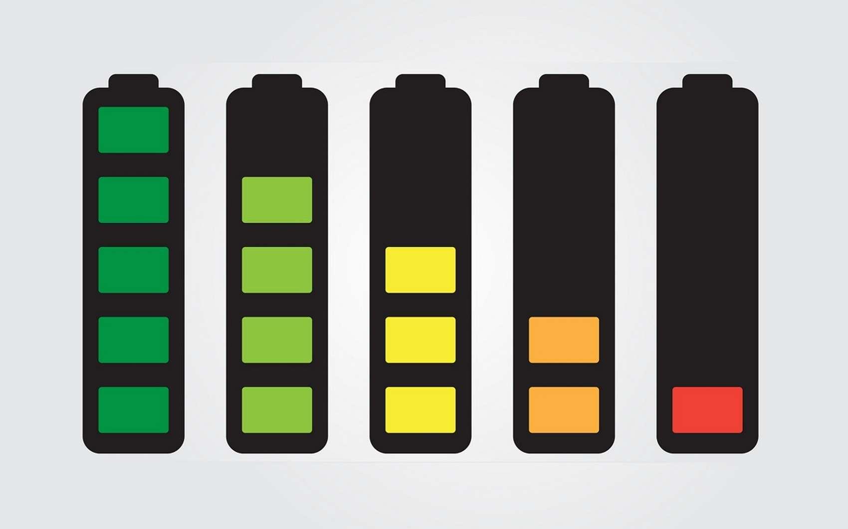 L'autonomie des batteries de smartphones dépasse aujourd'hui rarement une ou deux journées. © DR