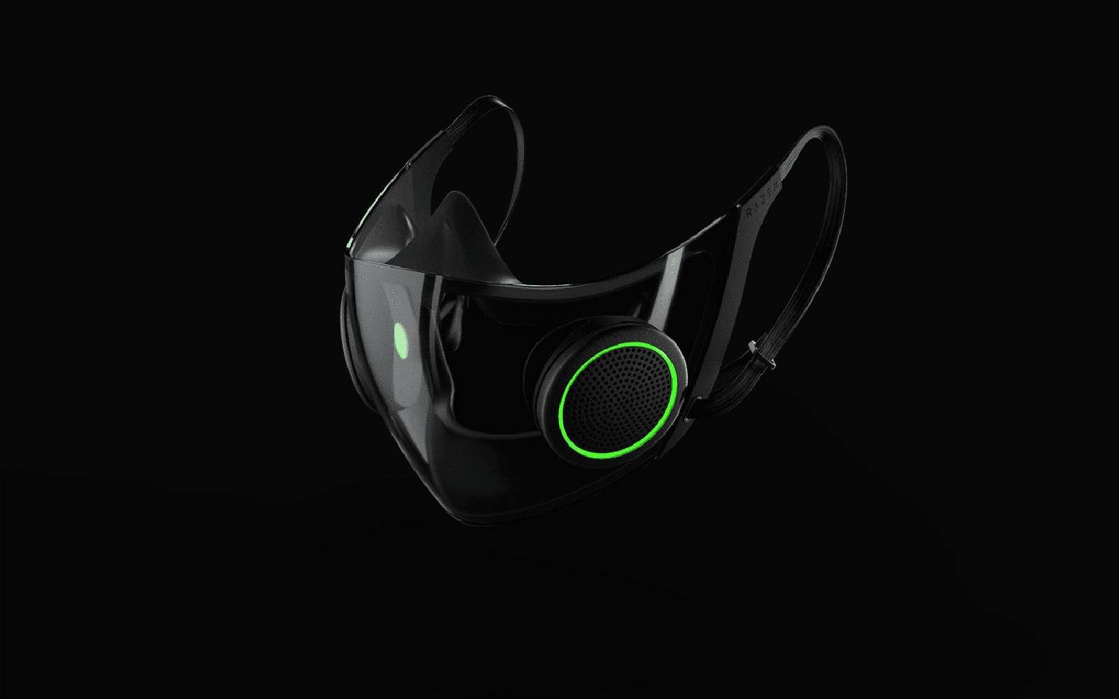 Les marques de high-tech dévoilent leurs masques anti-Covid connectés et intelligents. © Razer