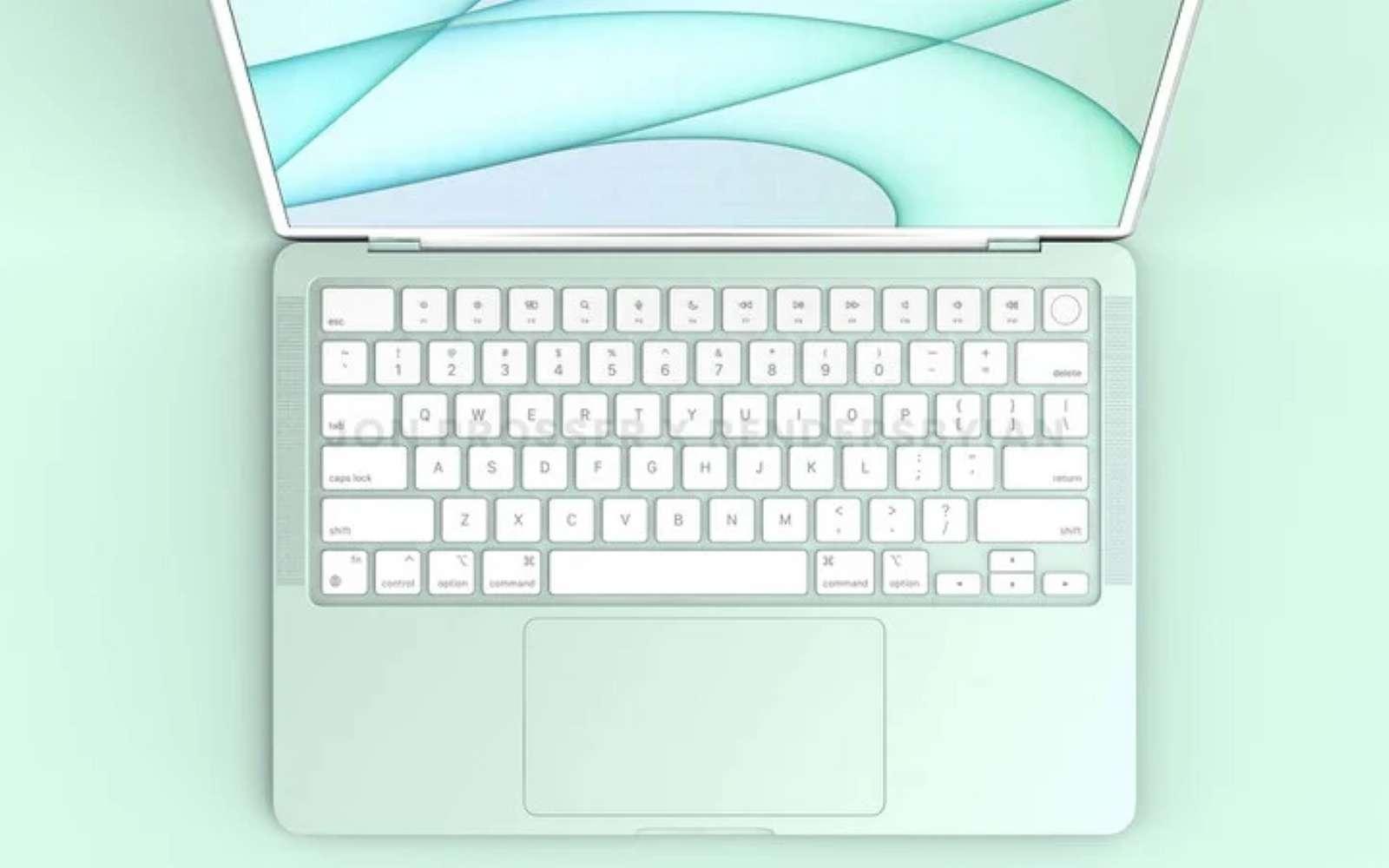 Plusieurs teintes, un design revu et plus de puissance, voici ce que proposerait le MacBook Air haut de gamme d'Apple. © Jon Prosser