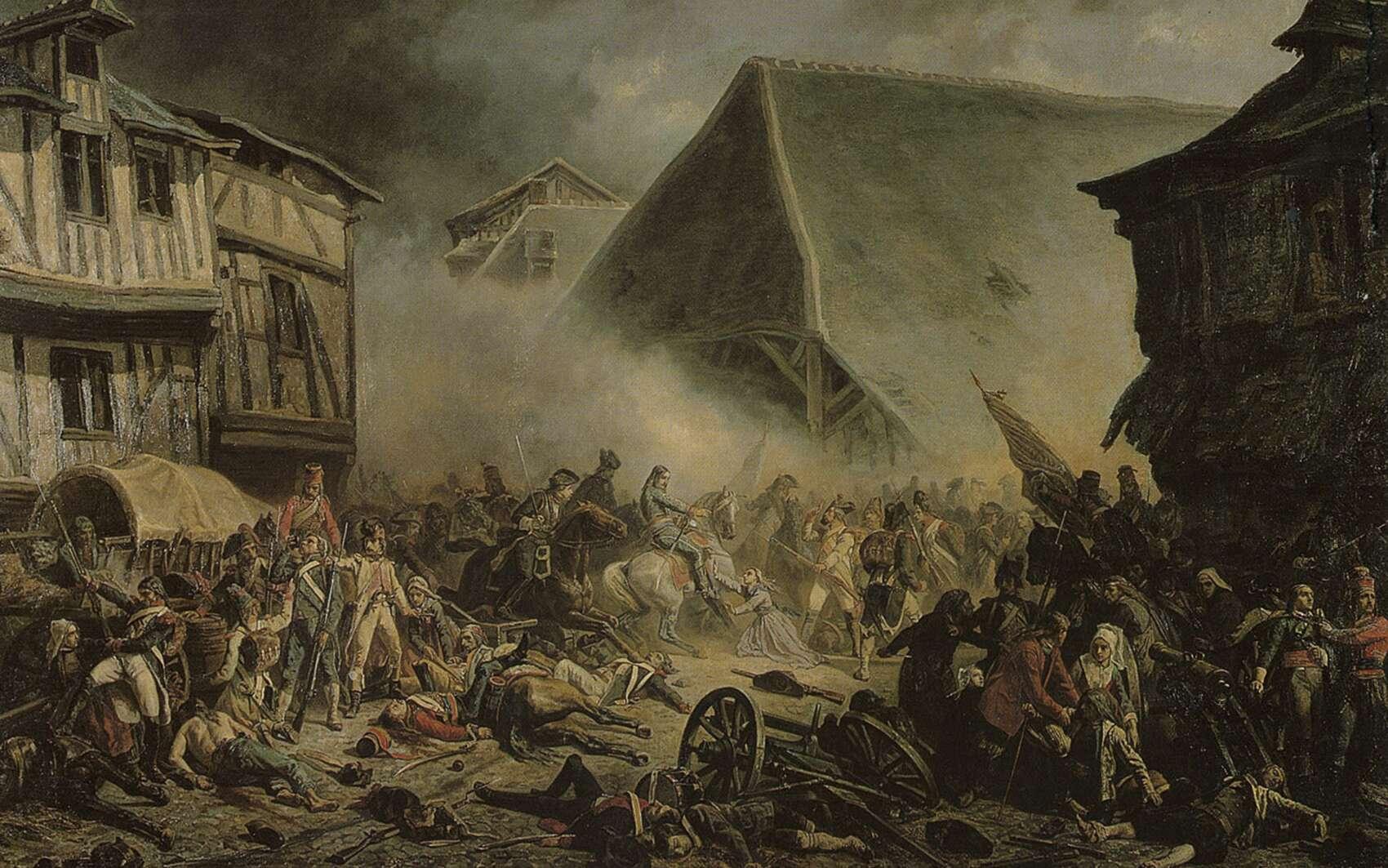 La bataille du Mans le 13 décembre 1793. © Musée de Tessé, Le Mans Wikimedia Commons, DP