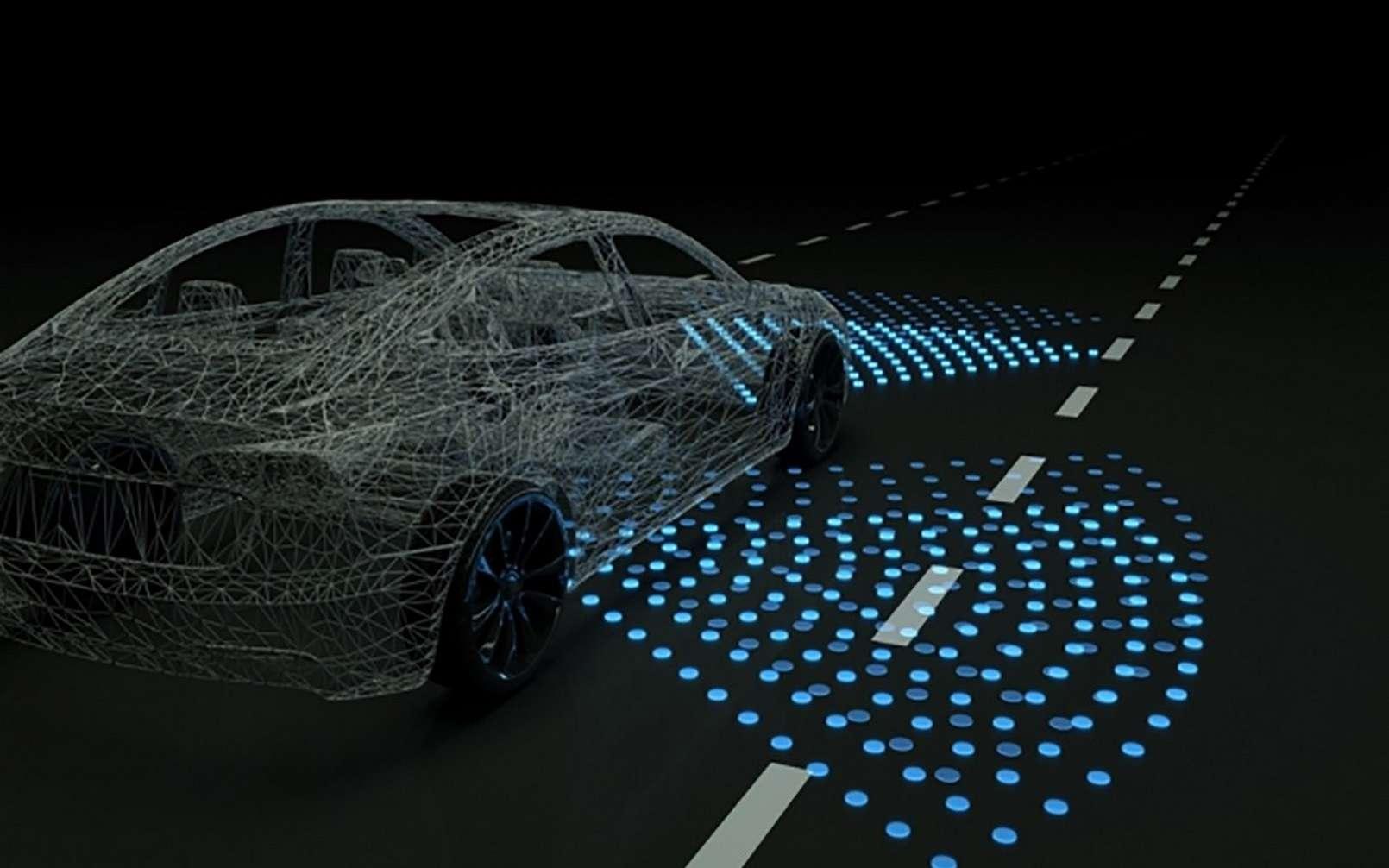 La formation 100 % virtuelle d'une IA conductrice est une première. © MIT CSAIL