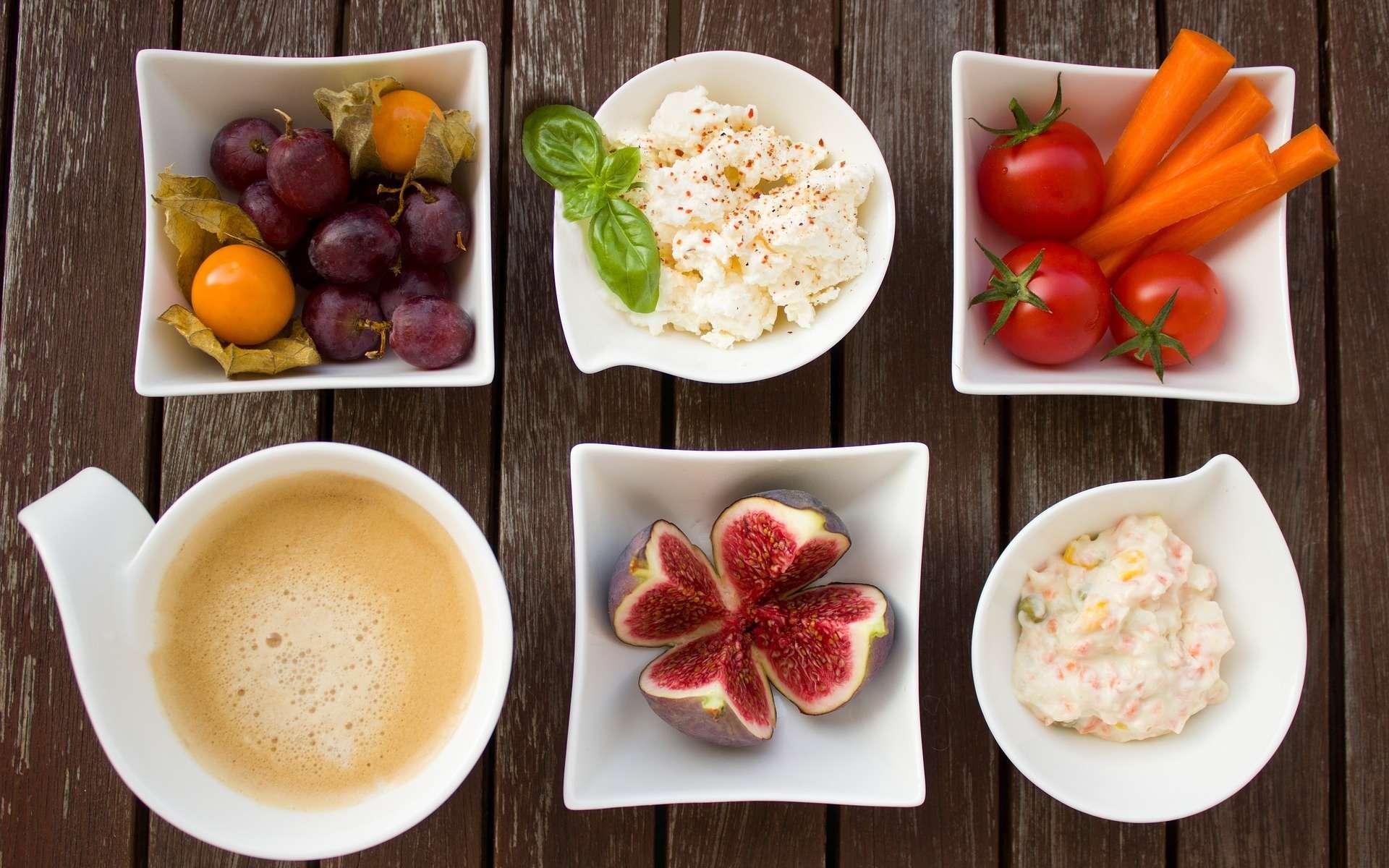 Les lacto-végétariens ne consomment pas de viande, mais acceptent les produits laitiers. © Einladung_zum_Essen, Pixabay, DP