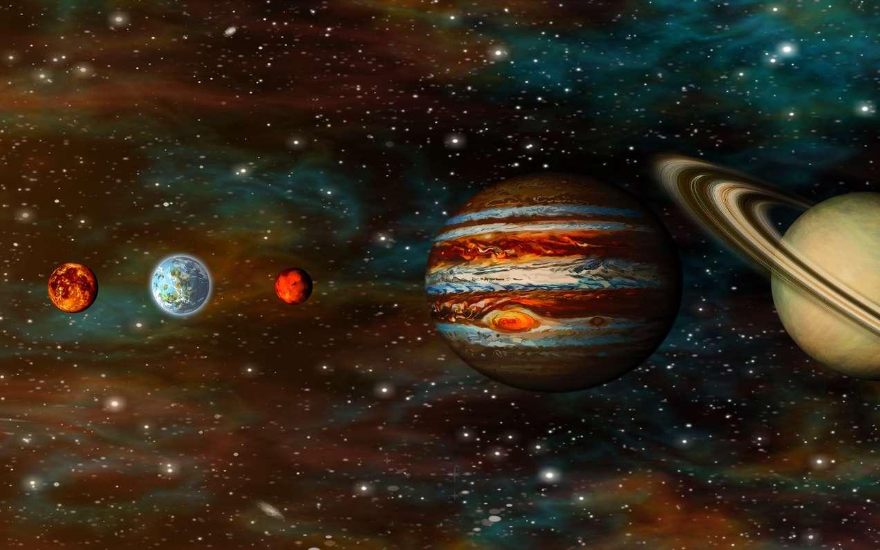Les planètes de notre Système solaire. © tmass, Fotolia