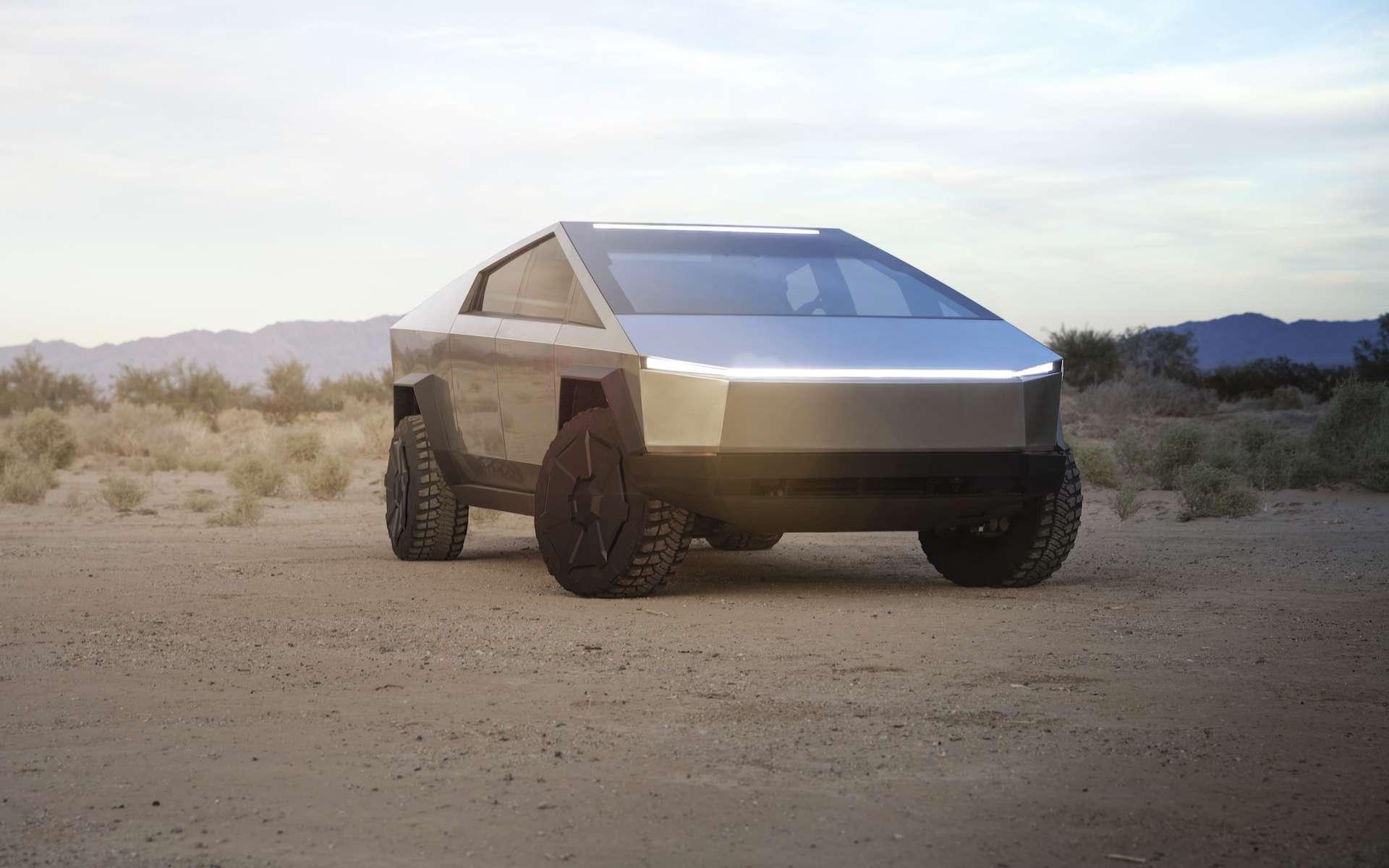 Personne n'avais imaginé un tel résultat pour le pickup électrique Cybertruck de Tesla. © Tesla