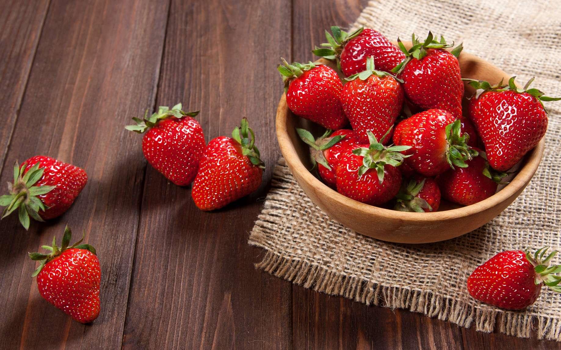 Pas facile de conserver des fraises. Comment faire ? © Виктория Орлова, fotolia