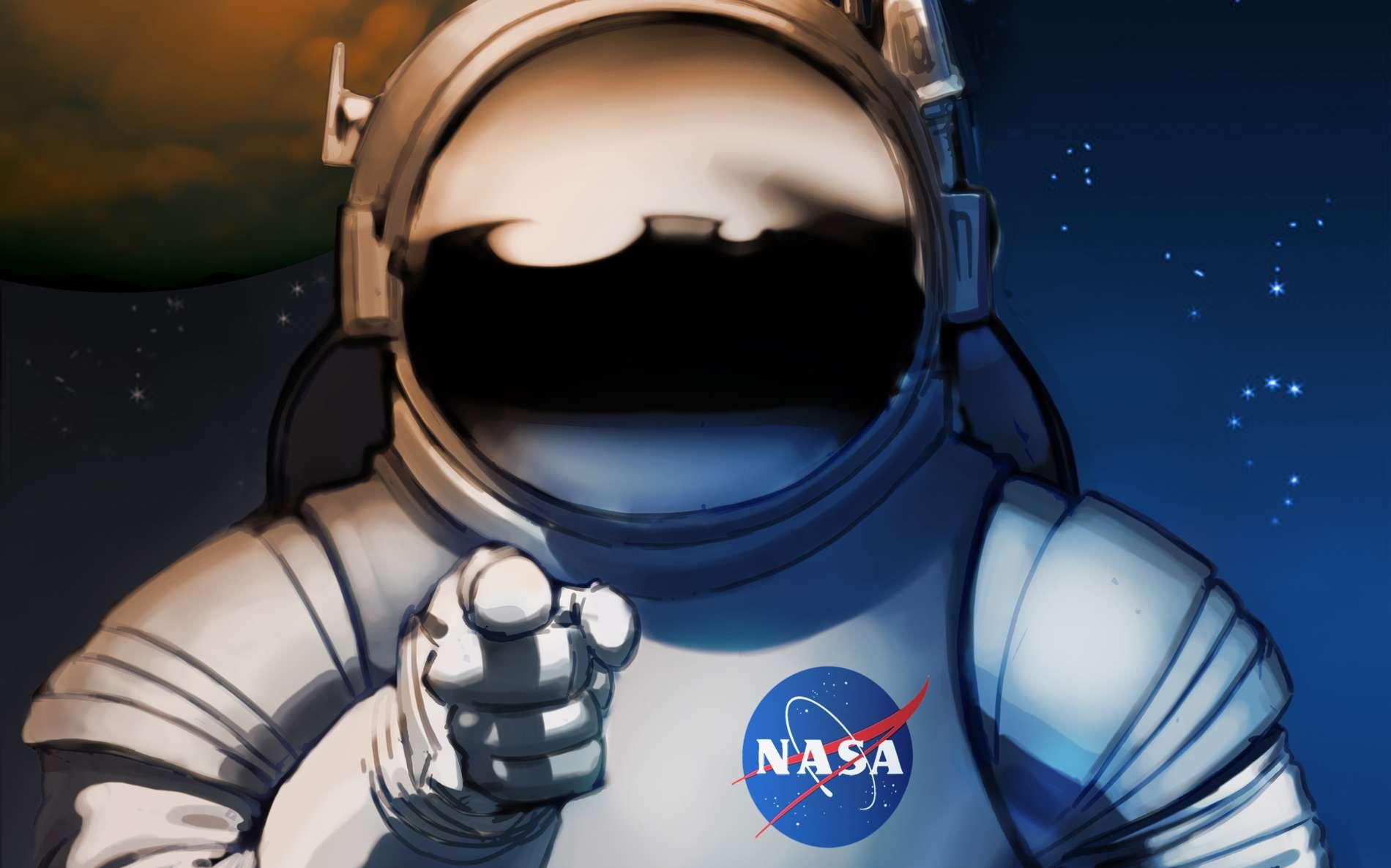 We need you ! Mars needs you ! Préparez-vous pour le nouveau western. Dixit la Nasa. © Nasa, KSC
