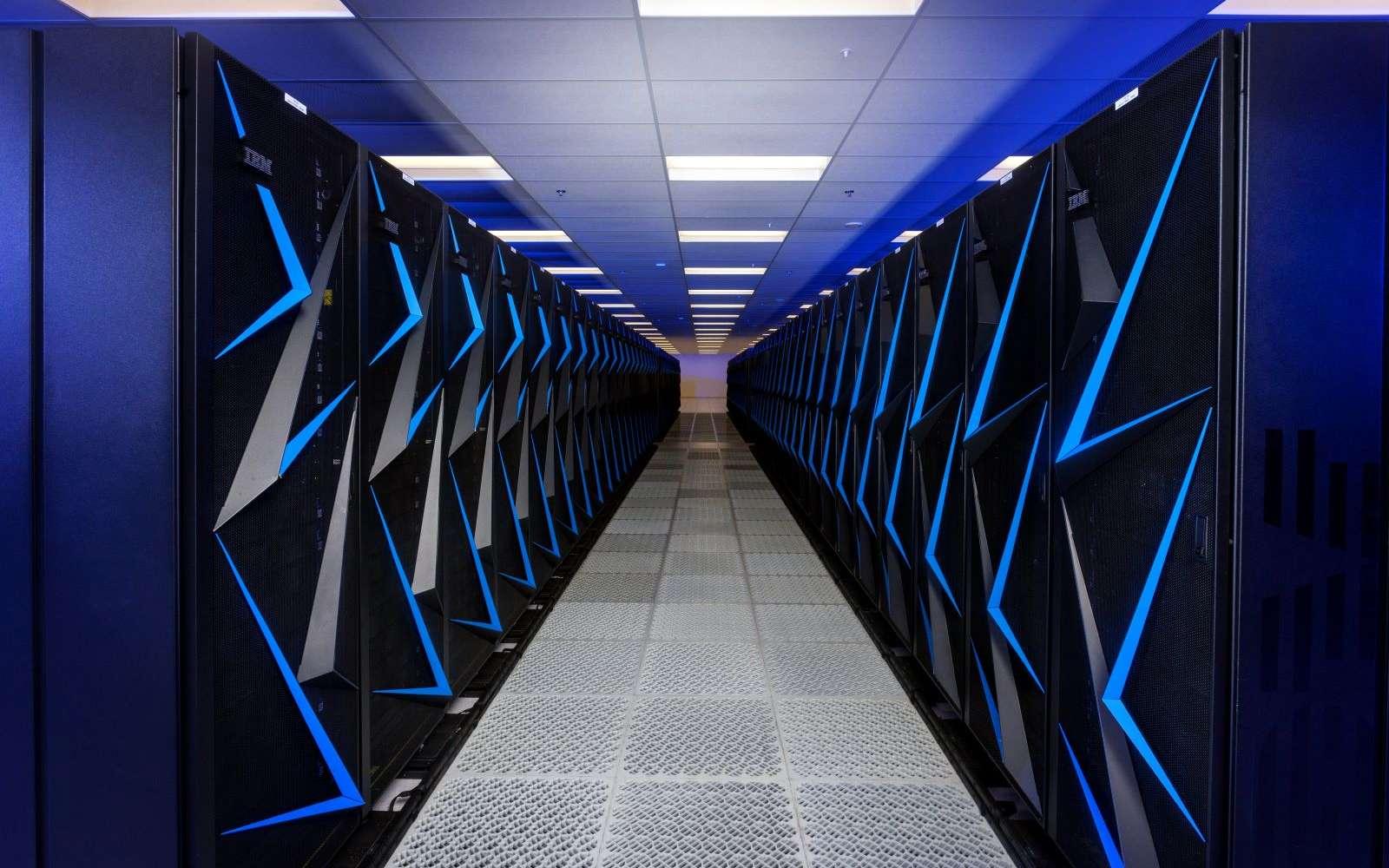 10.000 processeurs fonctionnent pour créer le réseau neuronal et analyser les données. © U.S. Department of Energy from United States