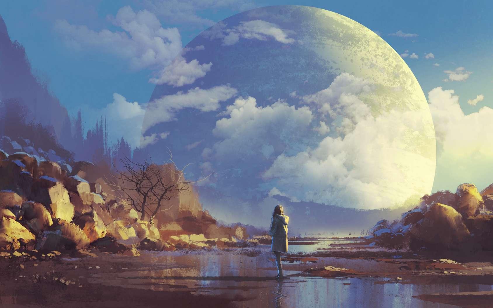 Le lit des rivières s'assèche tandis que la Planète du Chapitre devient une nouvelle Dune. © grandfailure, Fotolia
