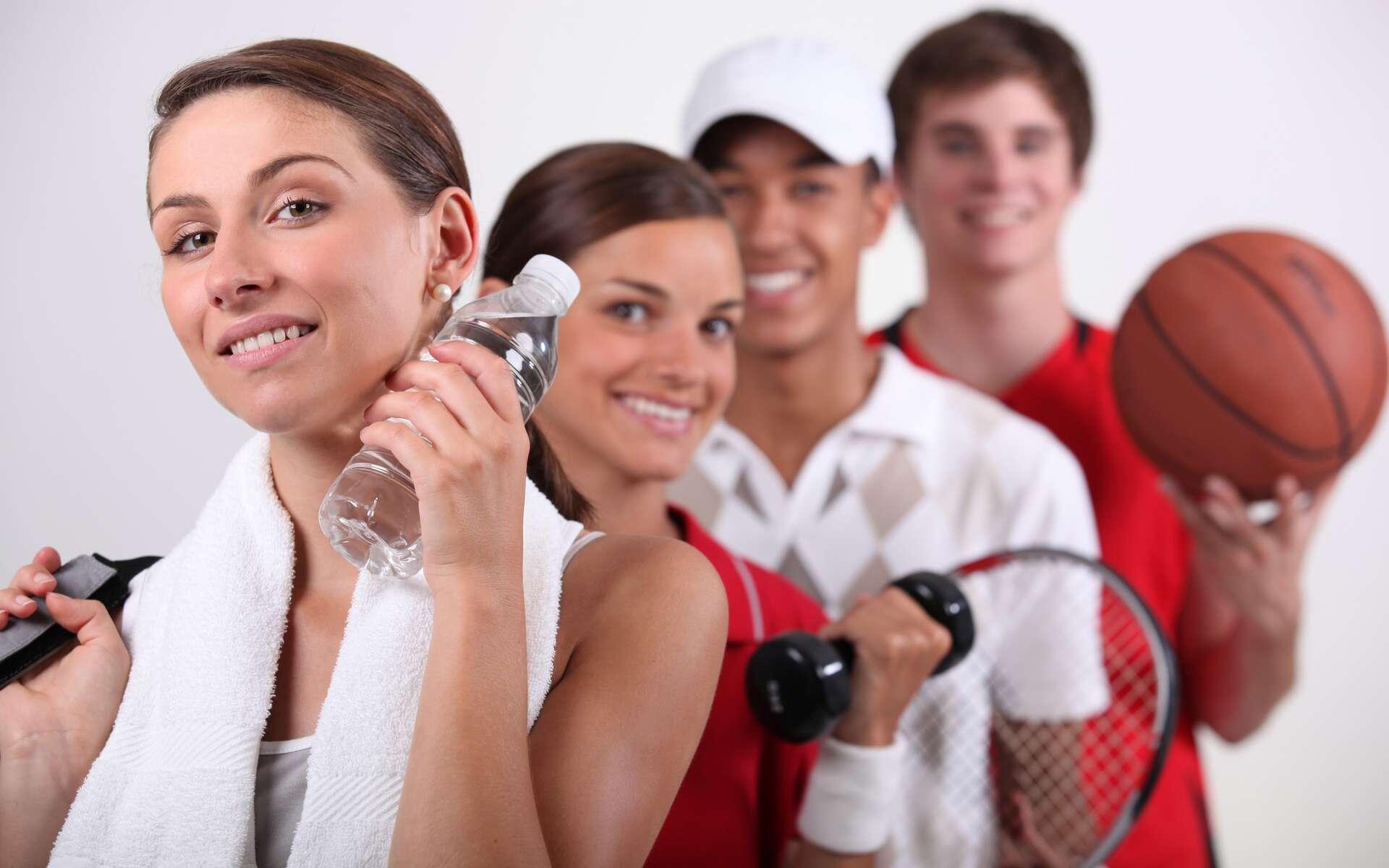 Le sport, dès 30 minutes par jour, permet d'éloigner l'anxiété et le stress. © Phovoir