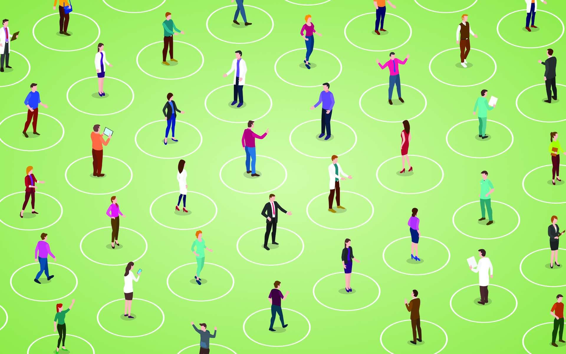 Comment faire respecter la distance de sécurité réglementaire ? Les idées les plus insolites. © fatmawati, Adobe Stock