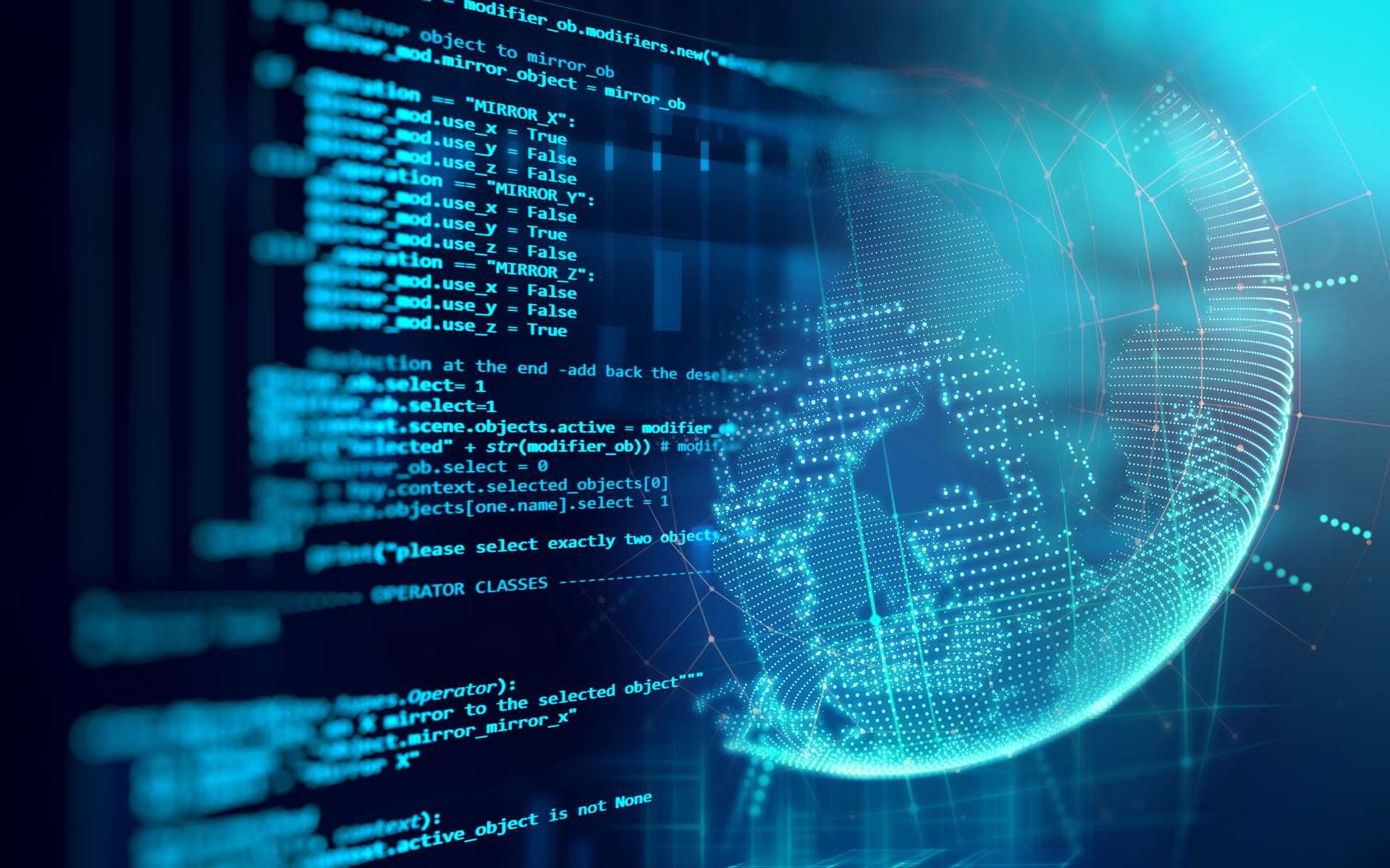 Sauvegarder des milliers de lignes de code informatique : un patrimoine pour les générations futures. © Monsitj, Adobe Stock