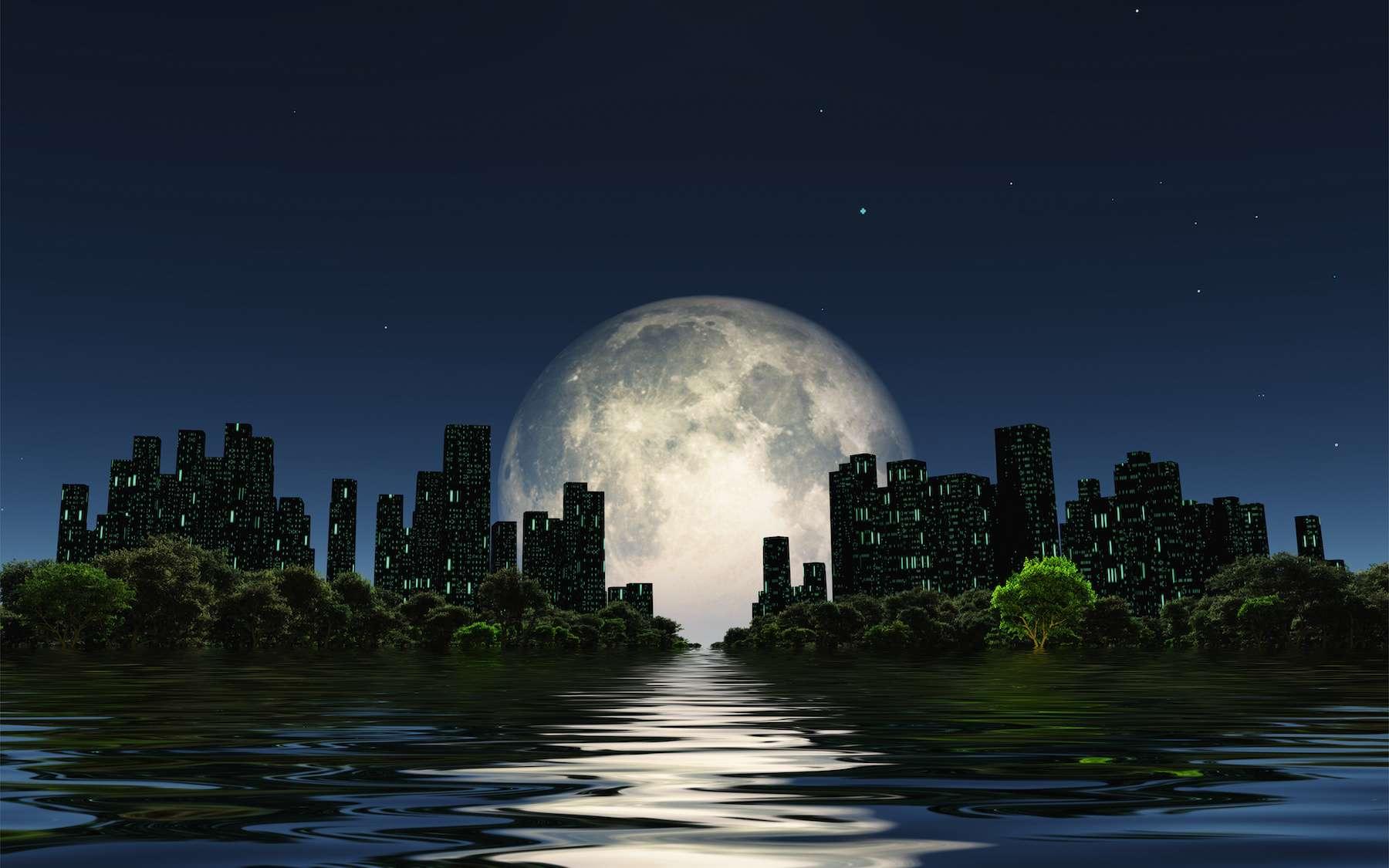 La Lune exerce une forte influence sur les marées. © rolffimages, Adobe Stock