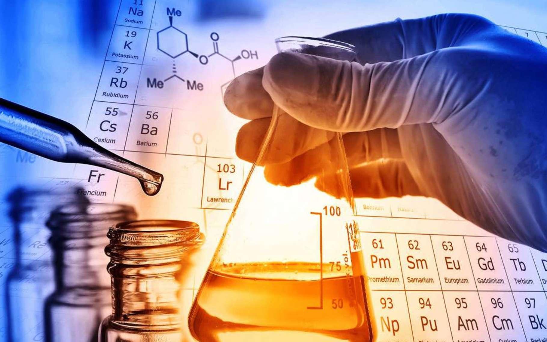 De la découverte du feu à la chimie des polymères : survolez la longue histoire de la découverte du monde des atomes. © DR