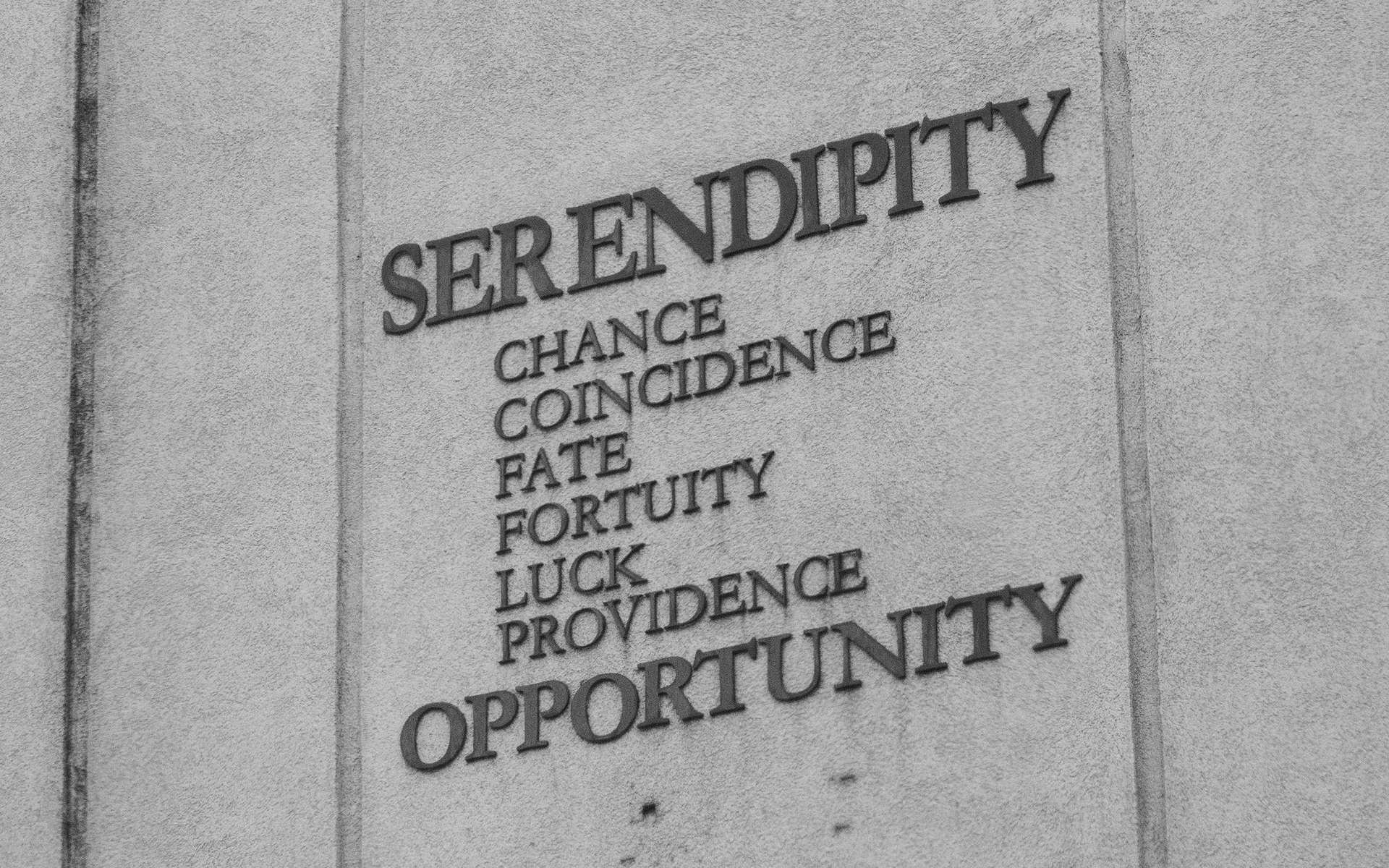 La sérendipité est l'art ou la capacité de faire une découverte, notamment scientifique, par hasard, mais aussi par sagacité. © Tyler Merbler, Flickr