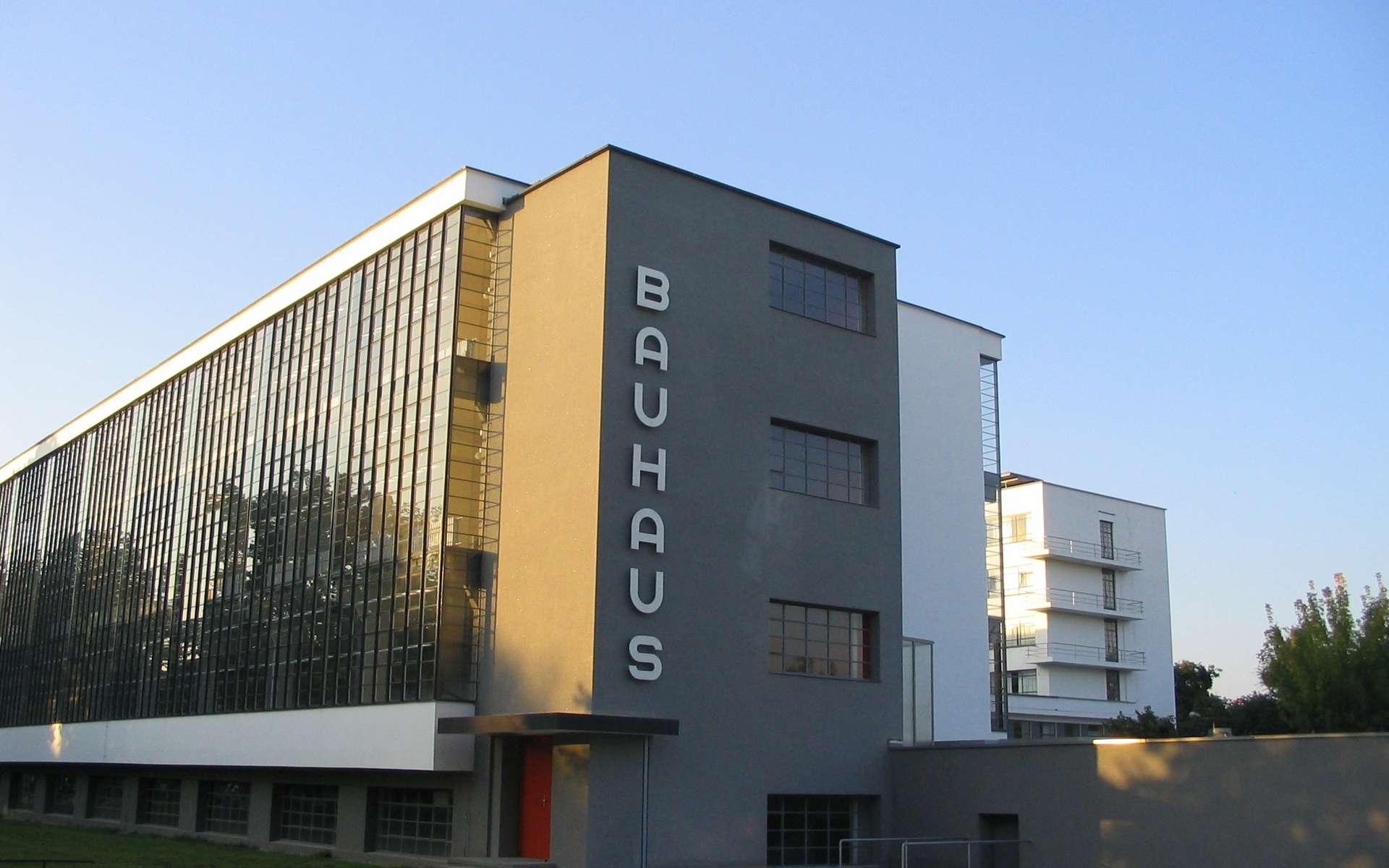 Le bâtiment de Bauhaus à Dessau. © Wikipedia, CC 3.0, domaine public