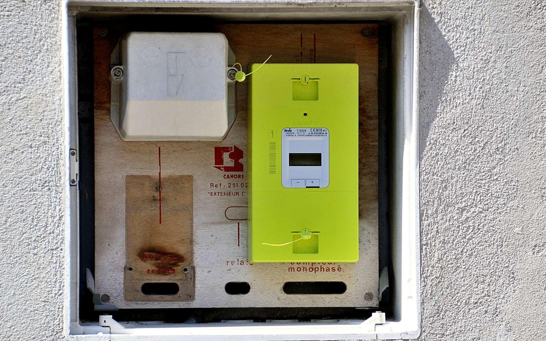 Linky est destiné à remplacer tous les anciens compteurs EDF. © GERARD BOTTINO, Shutterstock