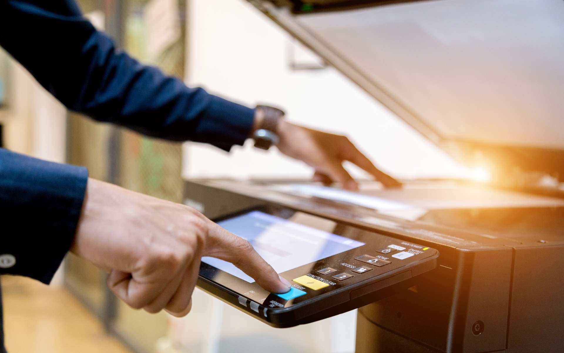 Aujourd'hui, la plupart des imprimantes disposent d'un scanner. © A Stockphoto, Adobe Stock