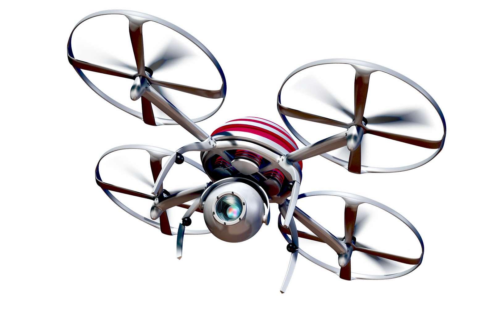 Après la surveillance des zones de confinement, les drones pourraient bientôt jouer les détecteurs de coronavirus parmi les foules. © Alexander Lesnitsky, Pixabay